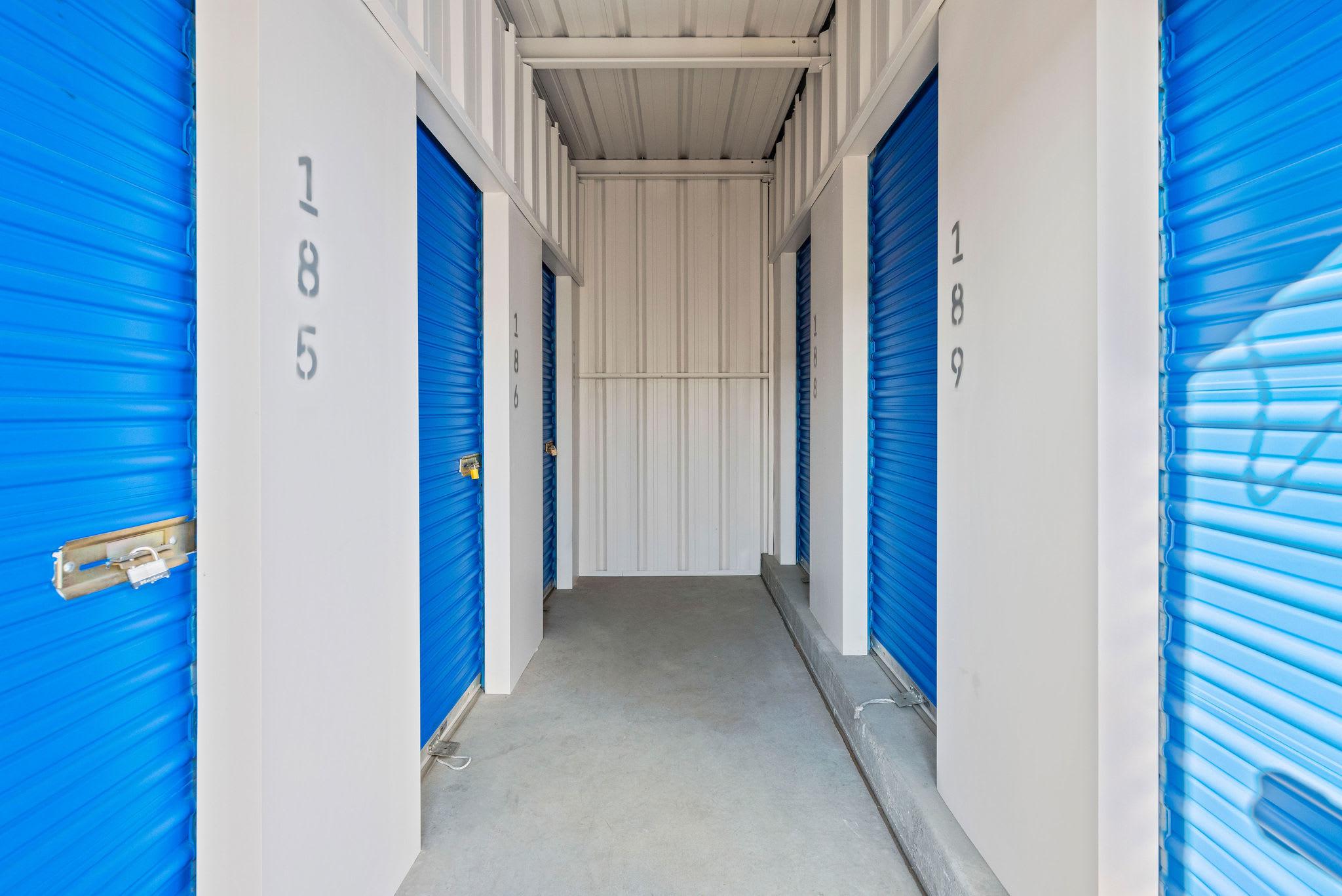 Walk up storage at Stor'em Self Storage in Orem, Utah