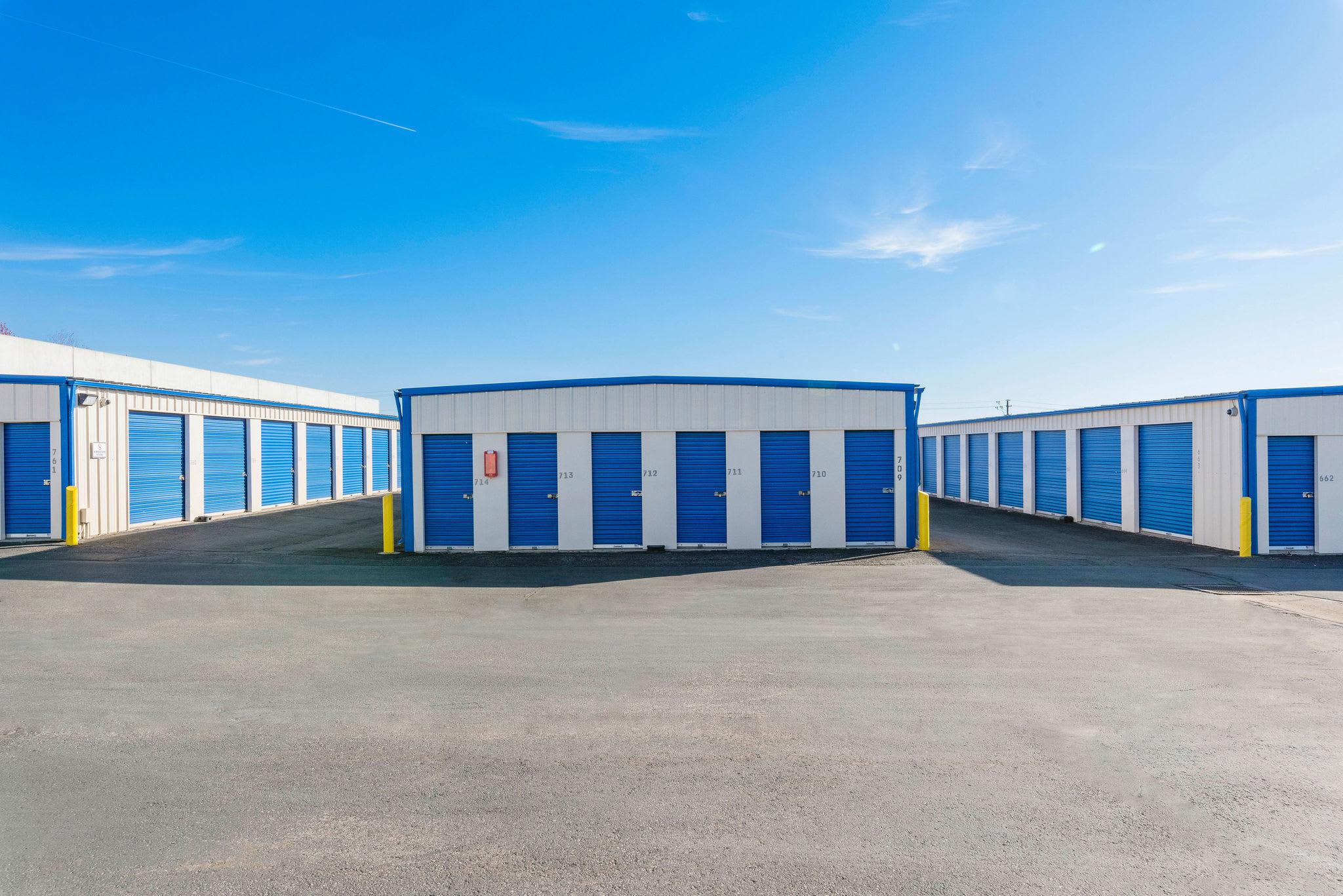 Drive up storage at Stor'em Self Storage in Orem, Utah