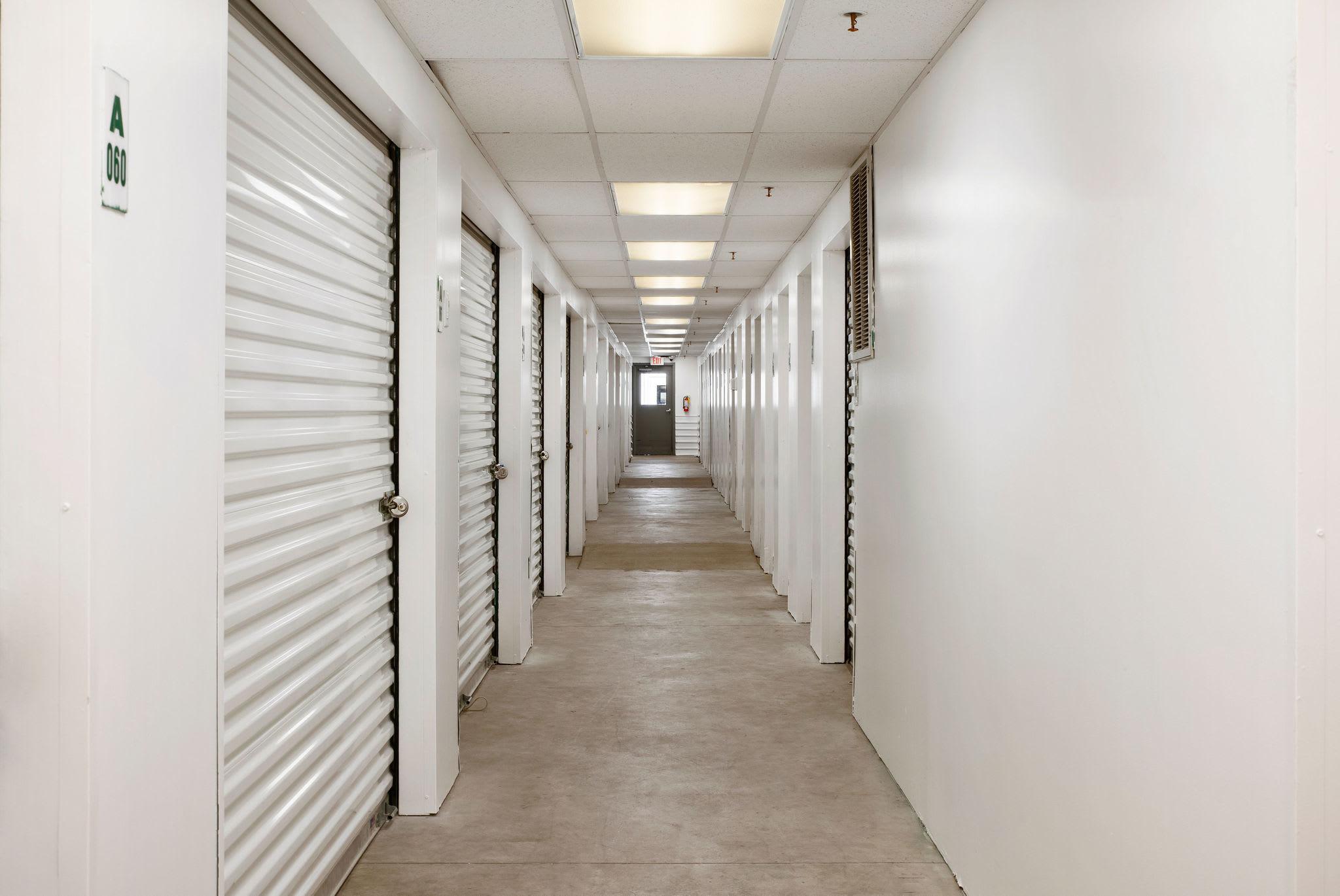 Indoor storage unit at Stor'em Self Storage in Sandy, Utah