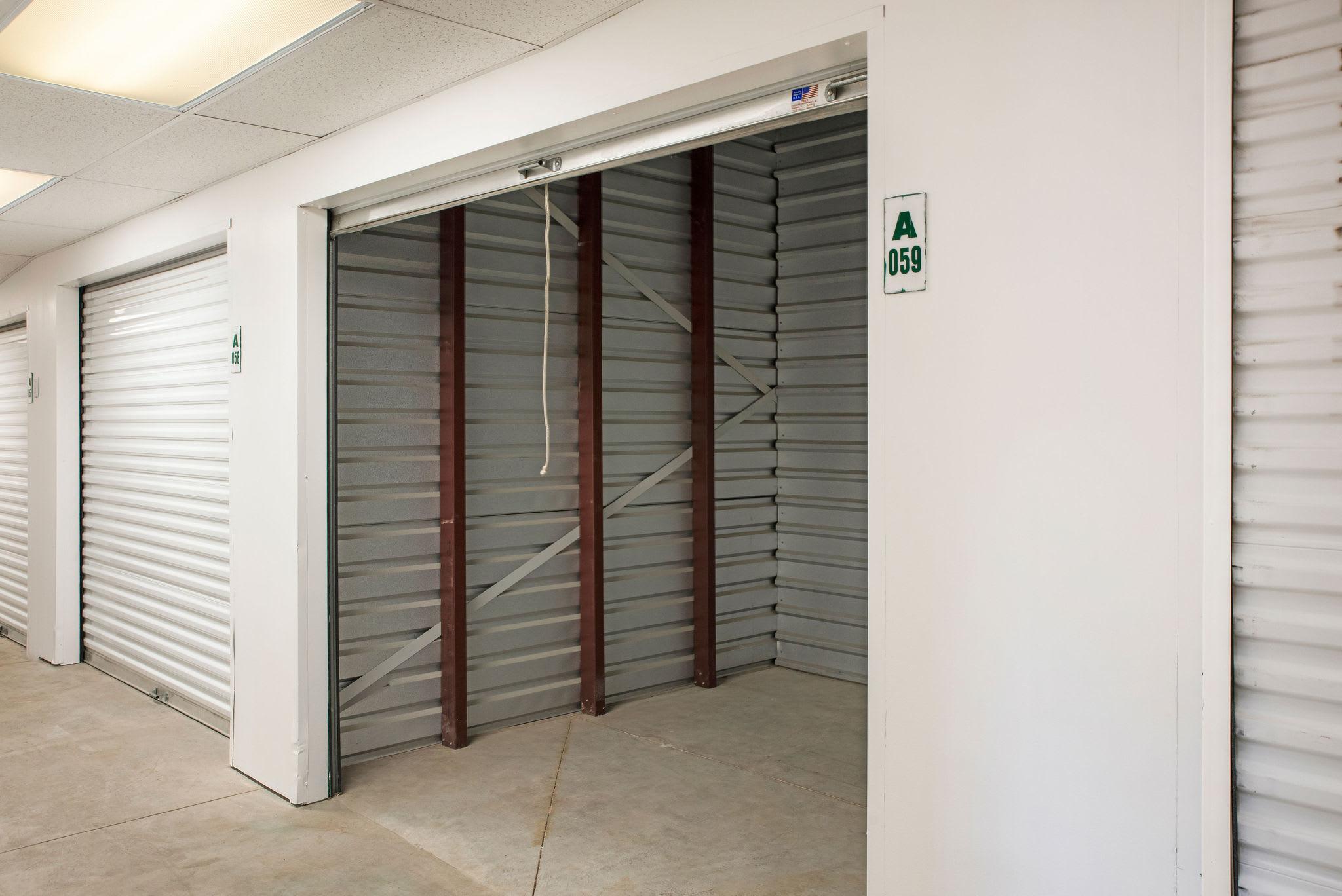 Storage unit at Stor'em Self Storage in Sandy, Utah