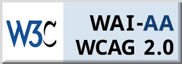 WCAG 2.0 AA Badge
