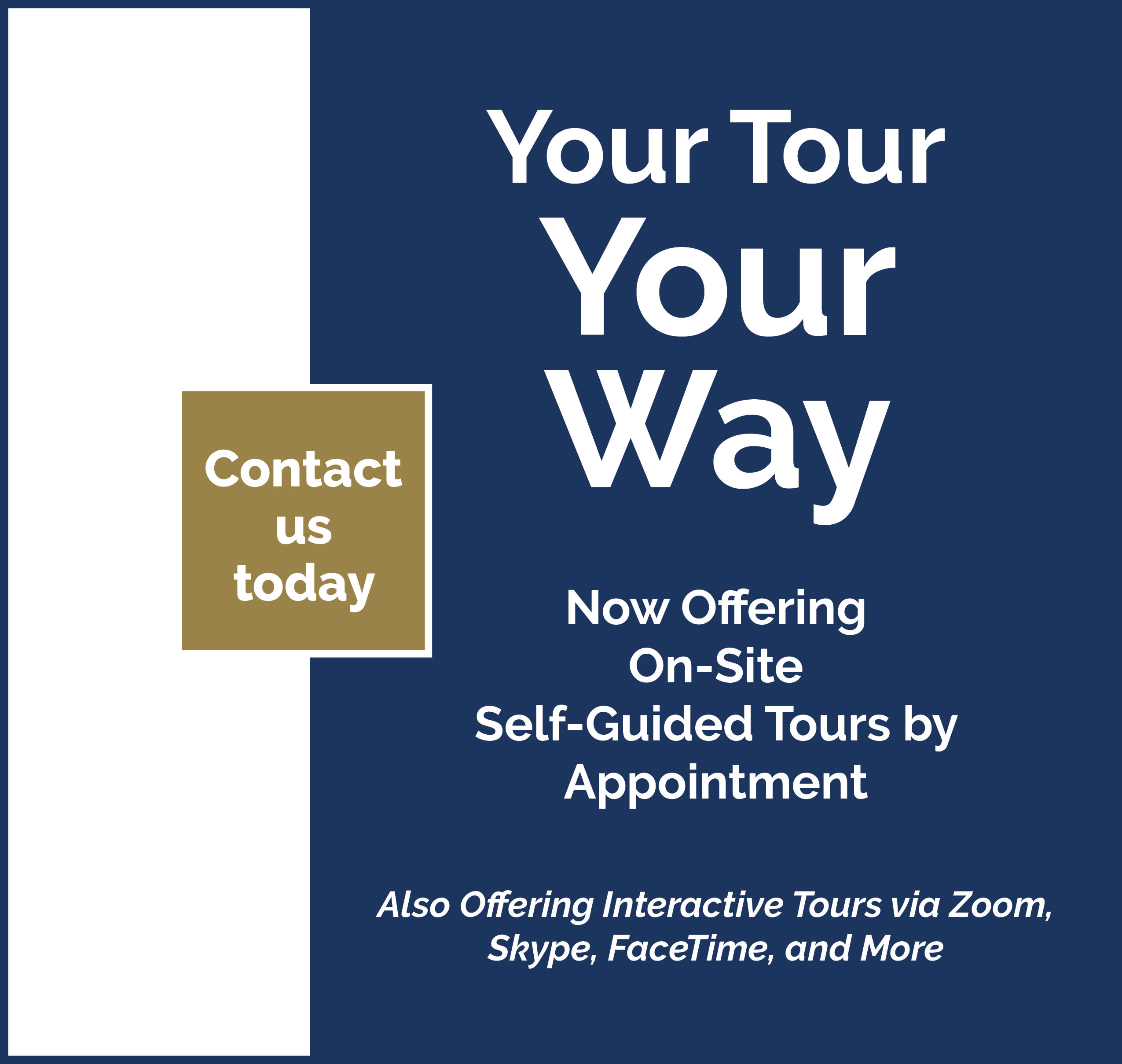 Your Tour Your Way Ad