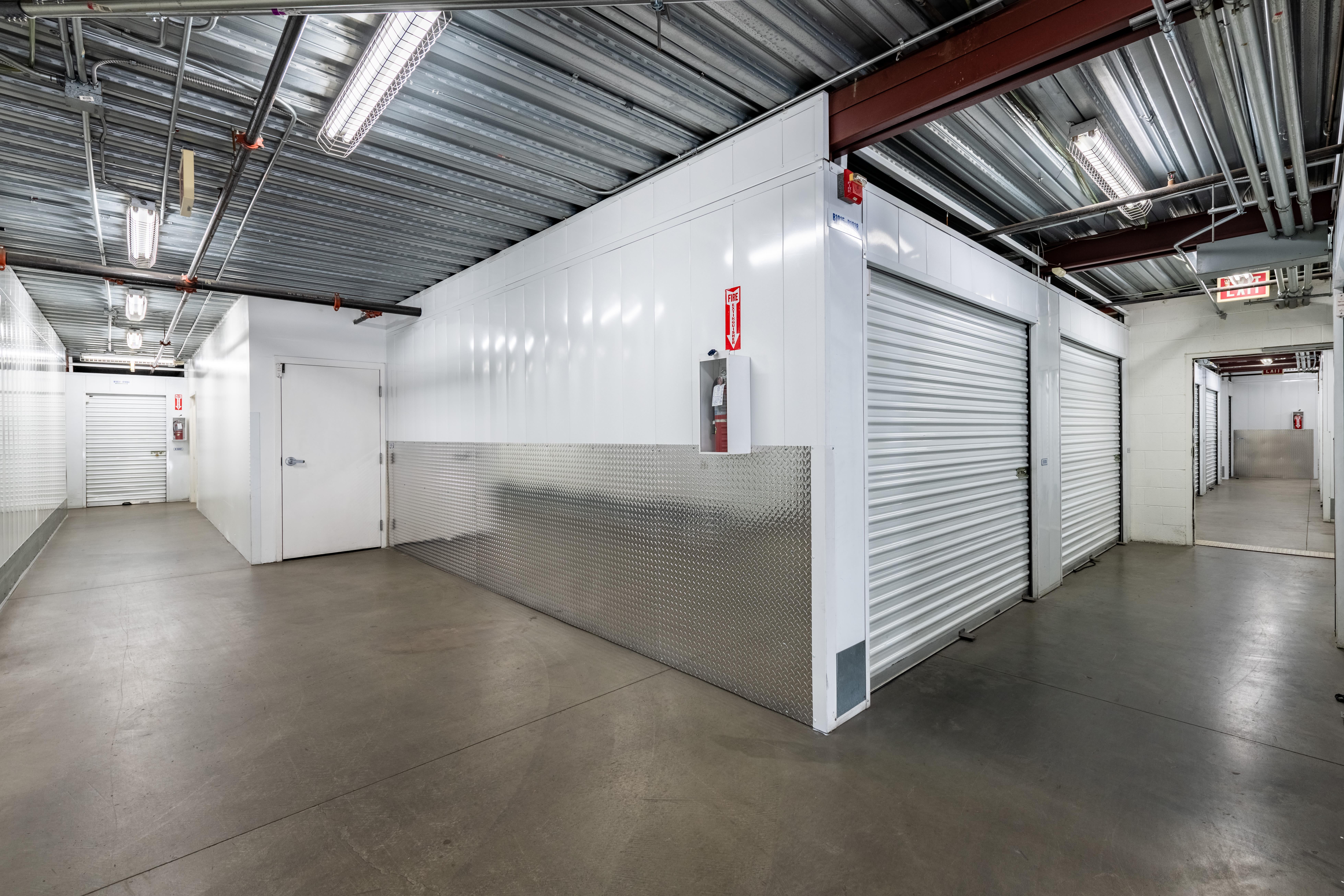 Indoor Storage Unit Hallway at Storage Etc... Long Beach
