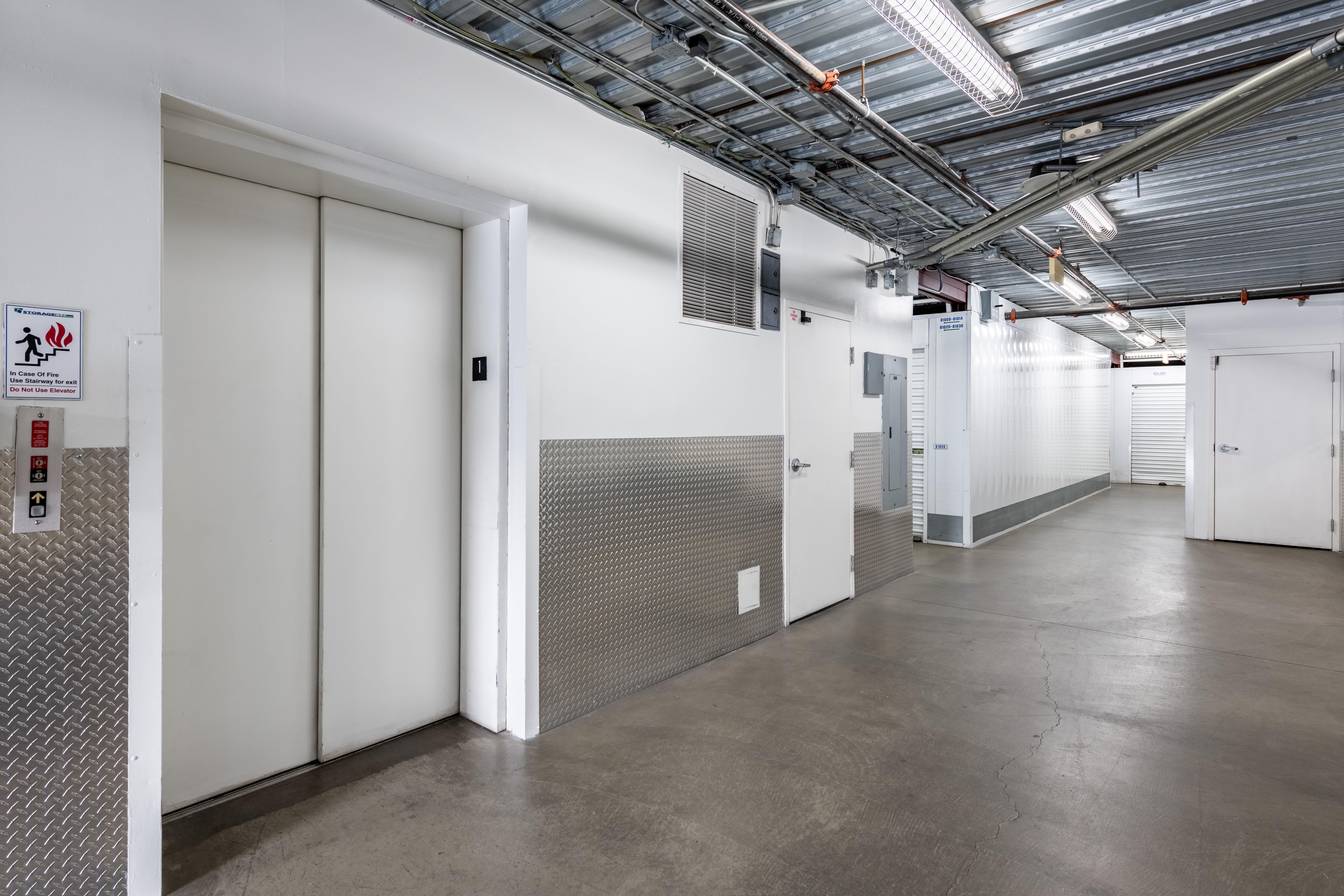 Elevator at Storage Etc... Long Beach