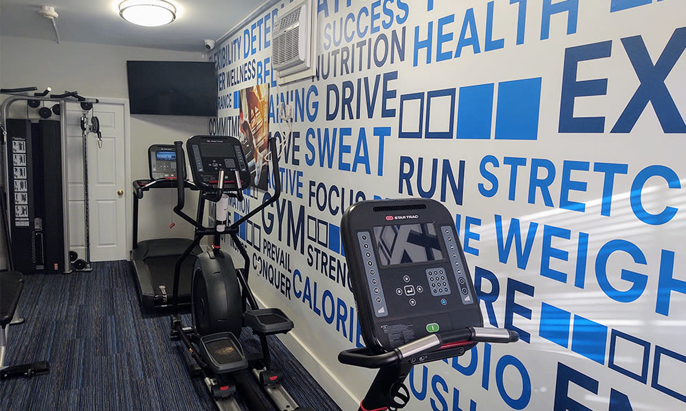 Fitness Center at Moorestowne Woods Apartment Homes in Moorestown, NJ