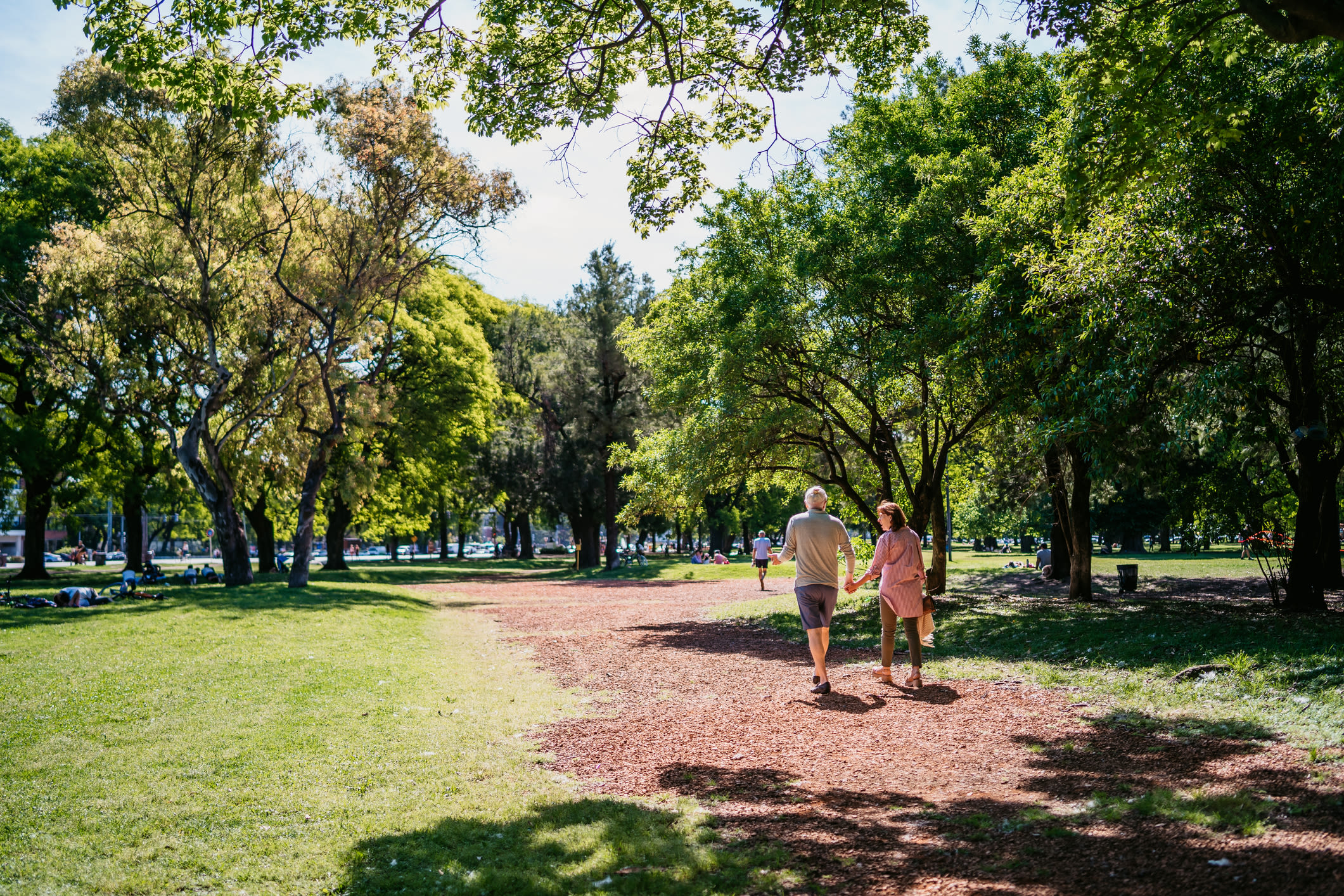 Beautiful park near a Ray Stone Inc. senior living community