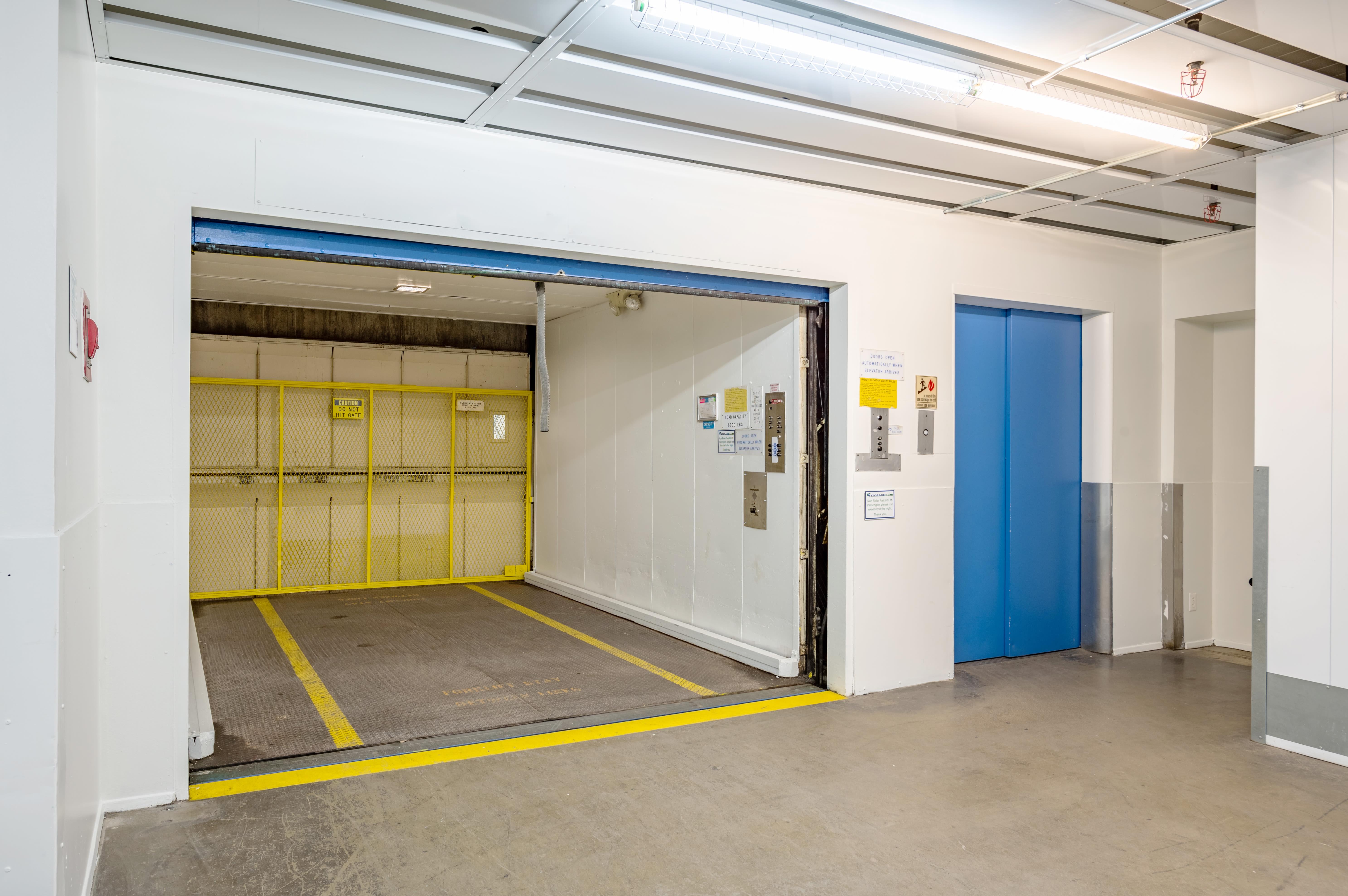 Drive up elevator at Storage Etc... Torrance