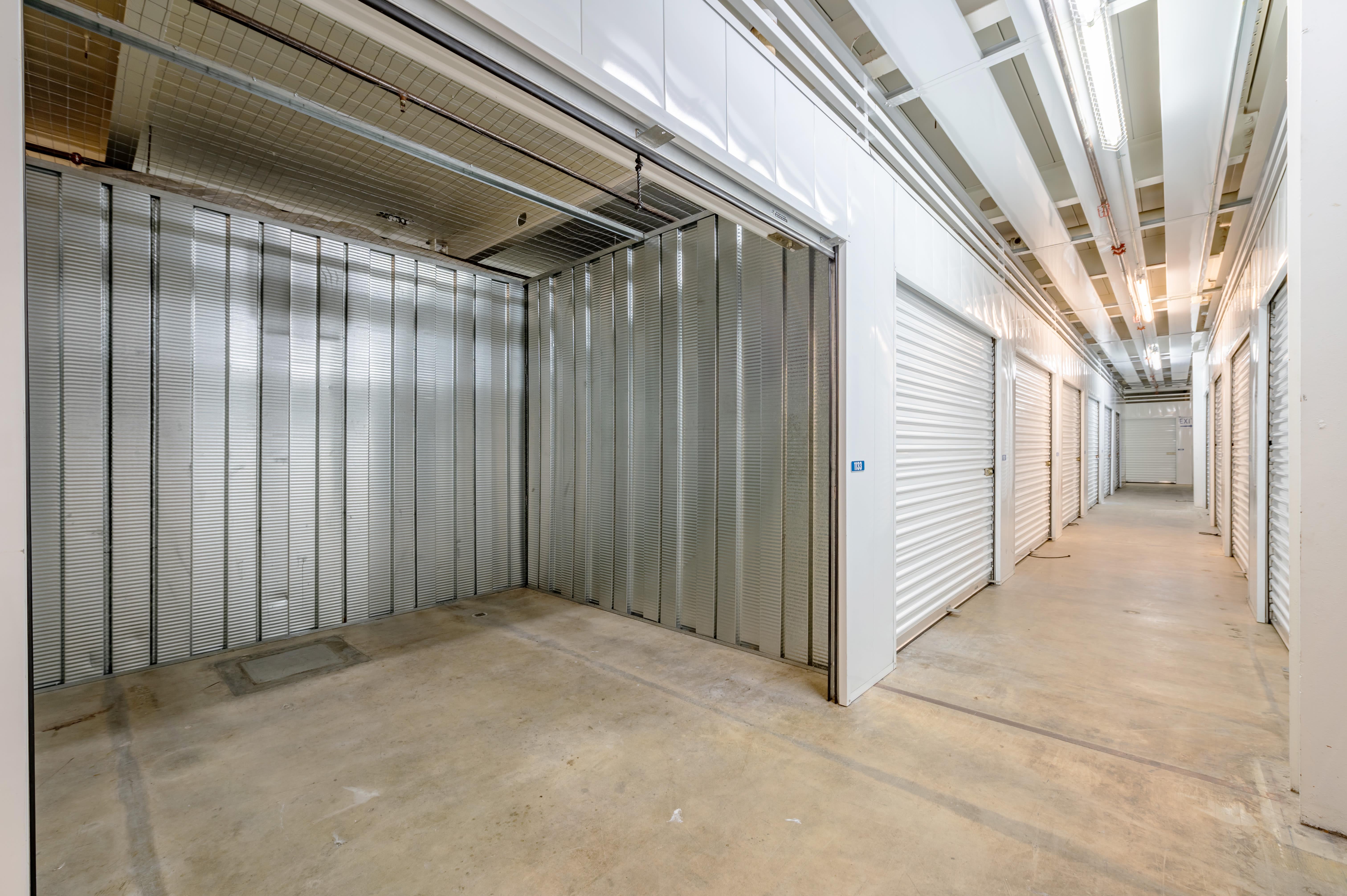 Storage Unit Interior Open at Storage Etc... Torrance