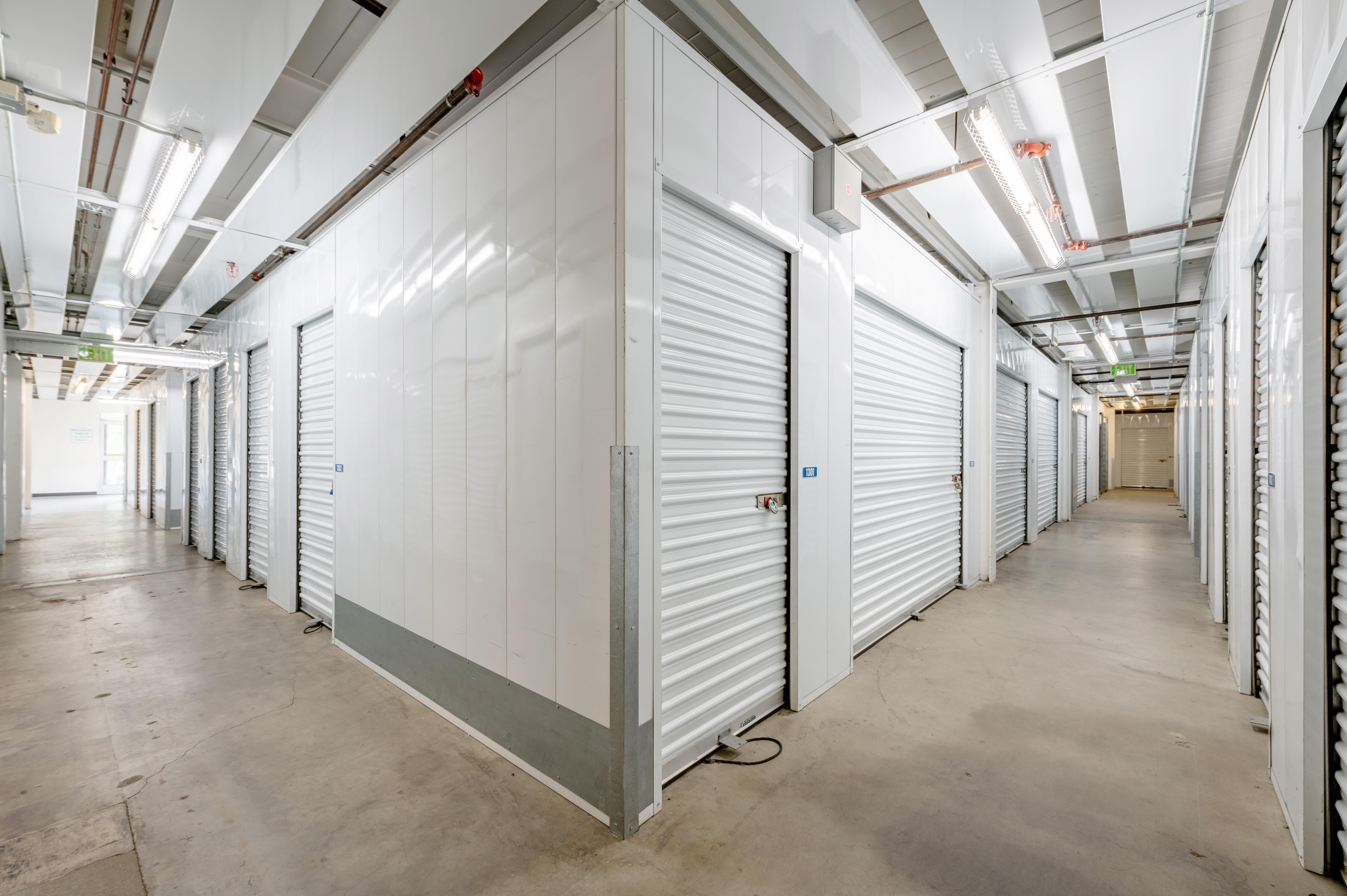 Storage Unit Interior at Storage Etc... Torrance