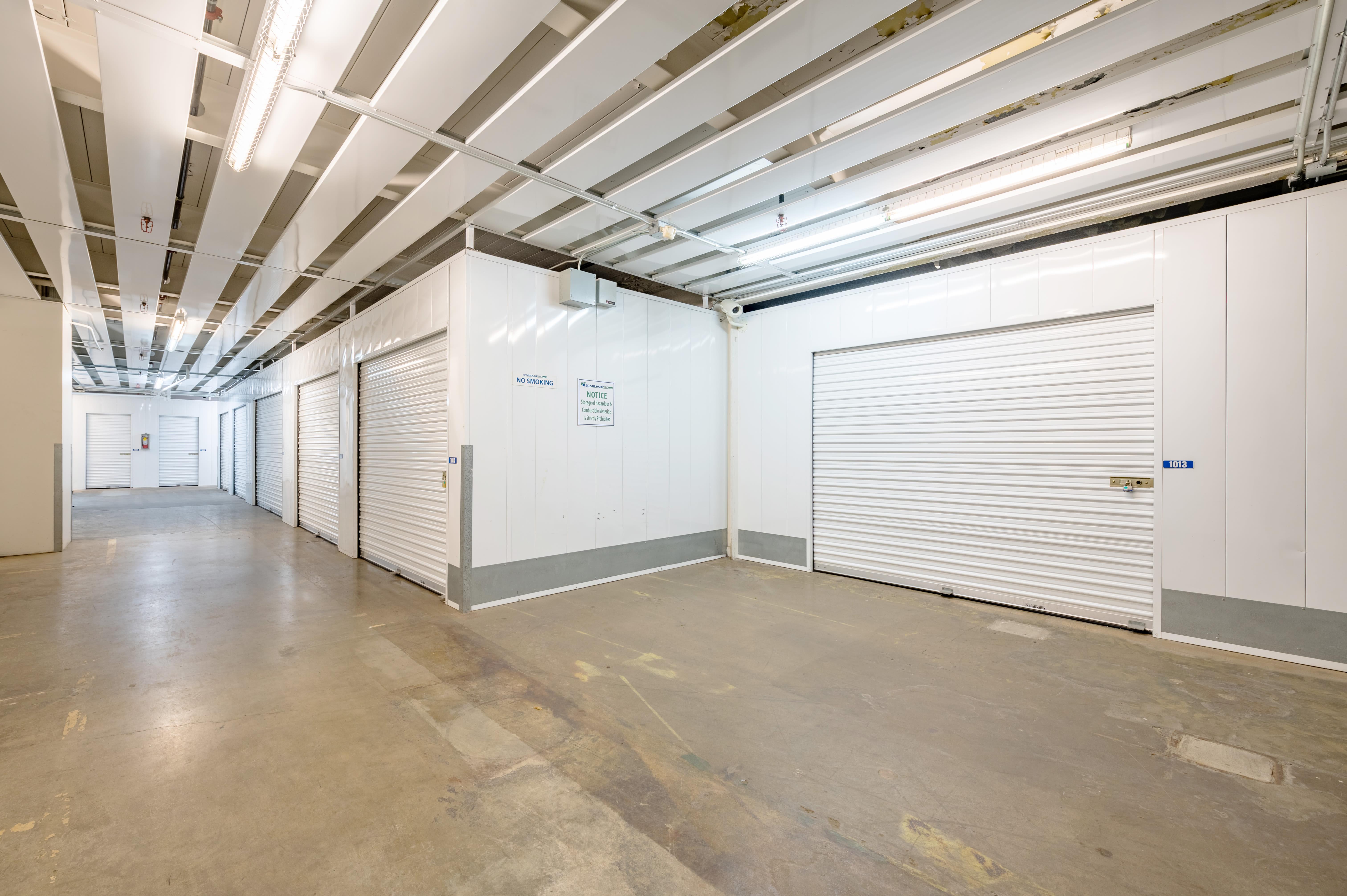 Indoor Storage Units at Storage Etc... Torrance