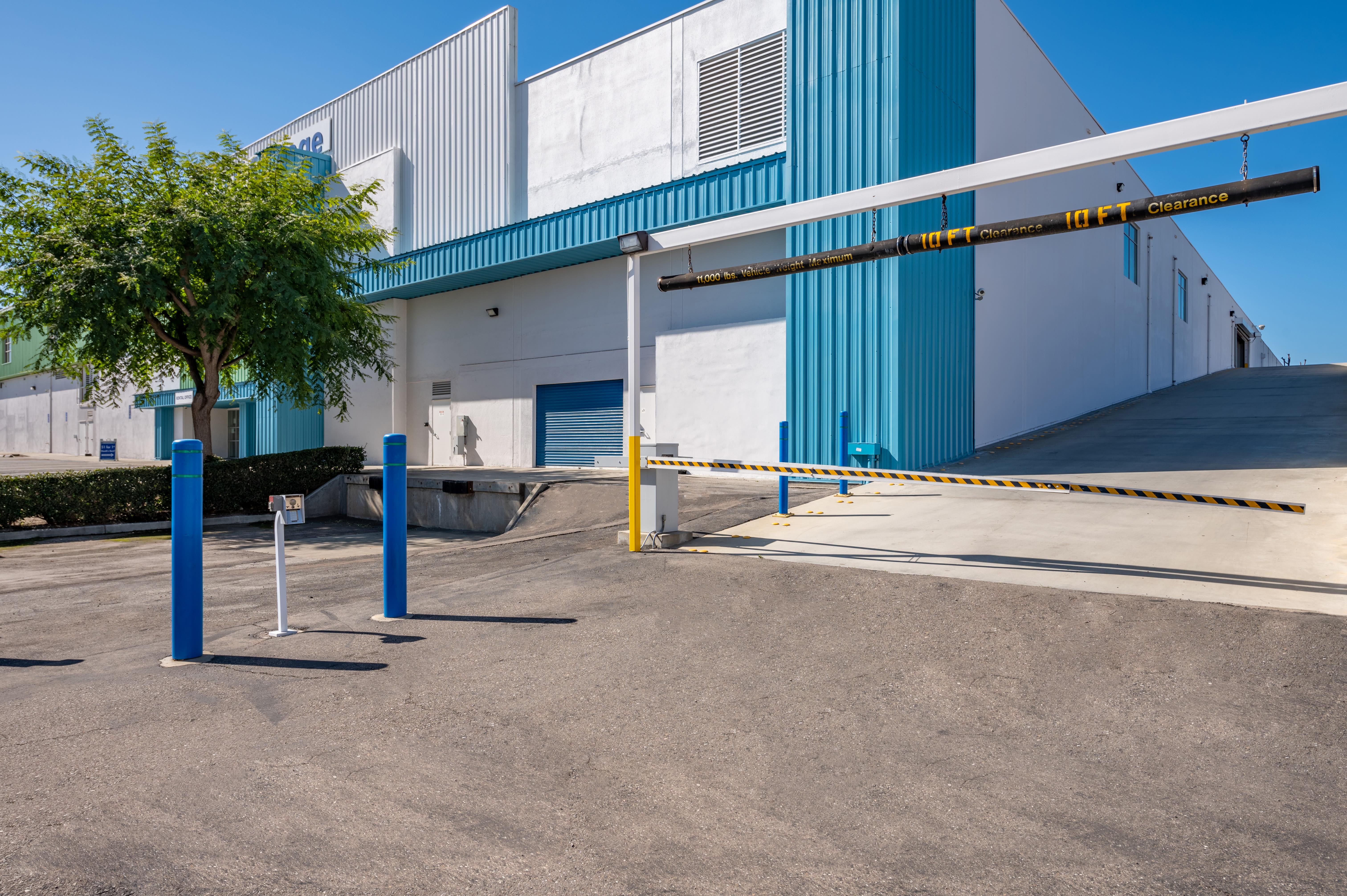 Gate access at Storage Etc... Torrance