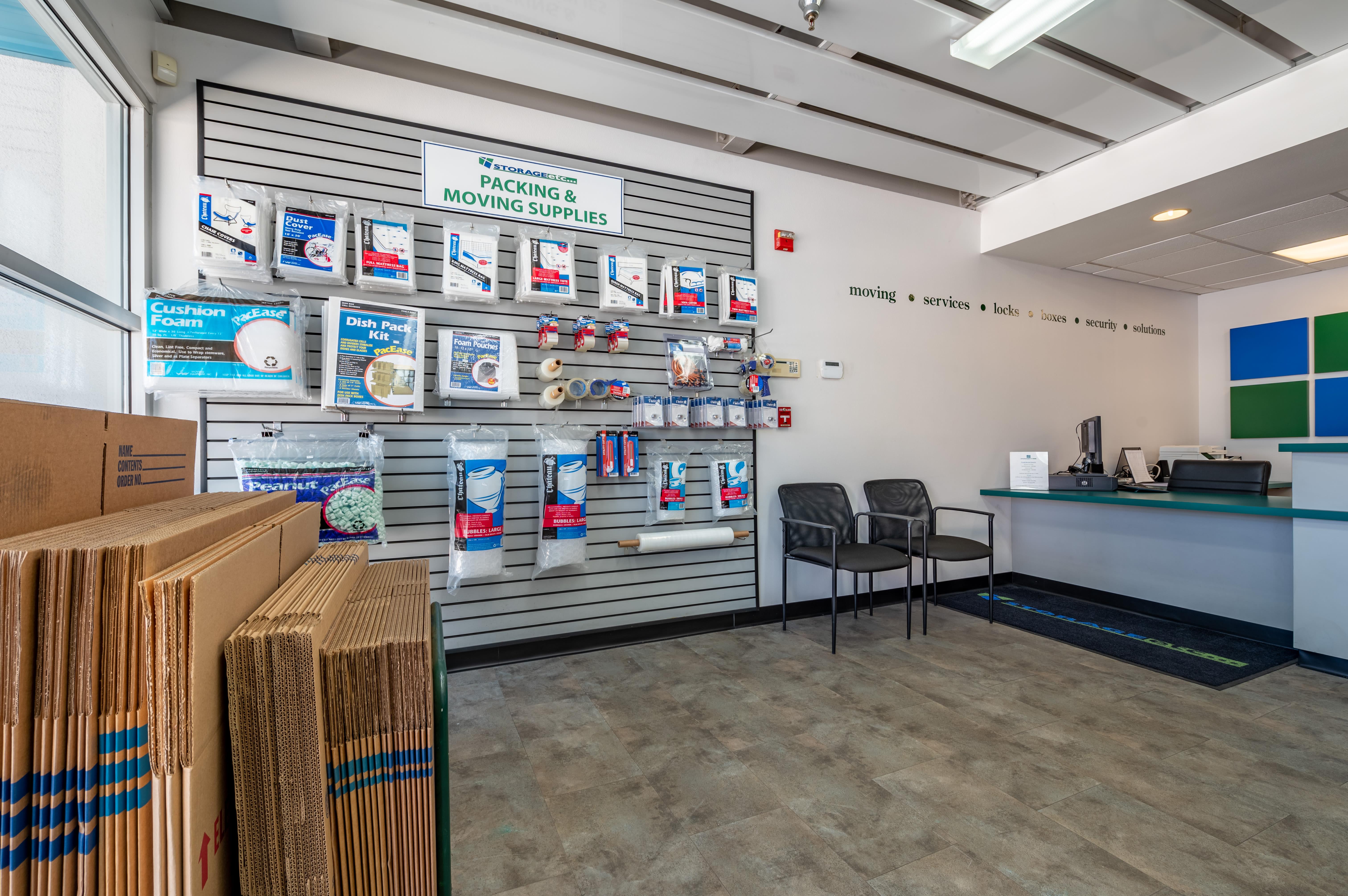 Storage supplies at Storage Etc... Torrance