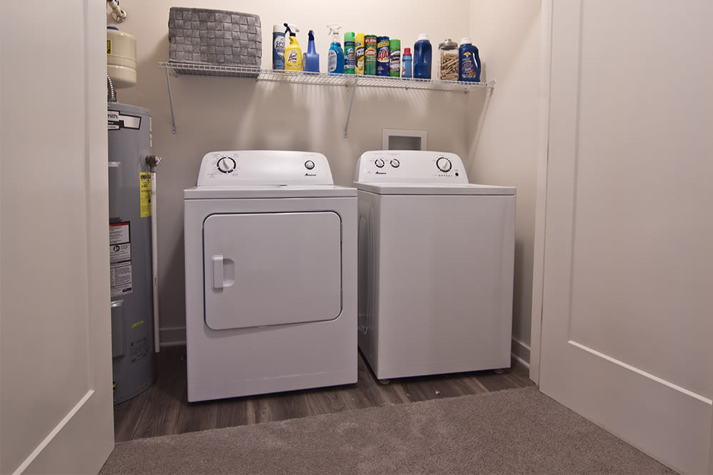 In-unit washer and dryer at Park West 205 Apartment Homes in Pittsburgh, Pennsylvania