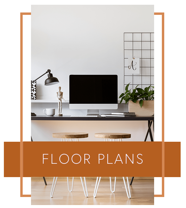 View floor plans at Courtyards at Cedar Hills in Beaverton, Oregon
