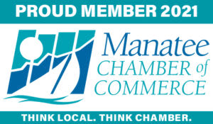 2021 Manatee Chamber of Commerce Proud Member Logo Bradenton Florida Lakewood Ranch Parrish Ellenton Palmetto Anna Maria Island