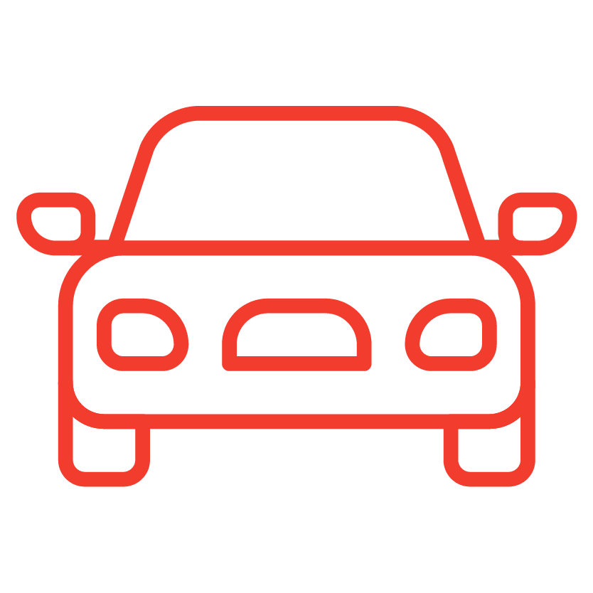 A drive-up access icon from Red Dot Storage in Maumee, Ohio