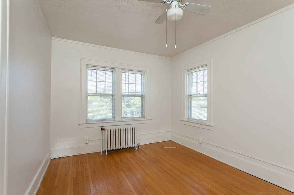Bedroom at Colby, Carlton, and Colby Park Apartments in Rochester New York