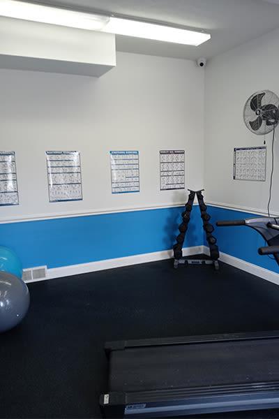 Indoor fitness at Avon Commons in Avon, New York