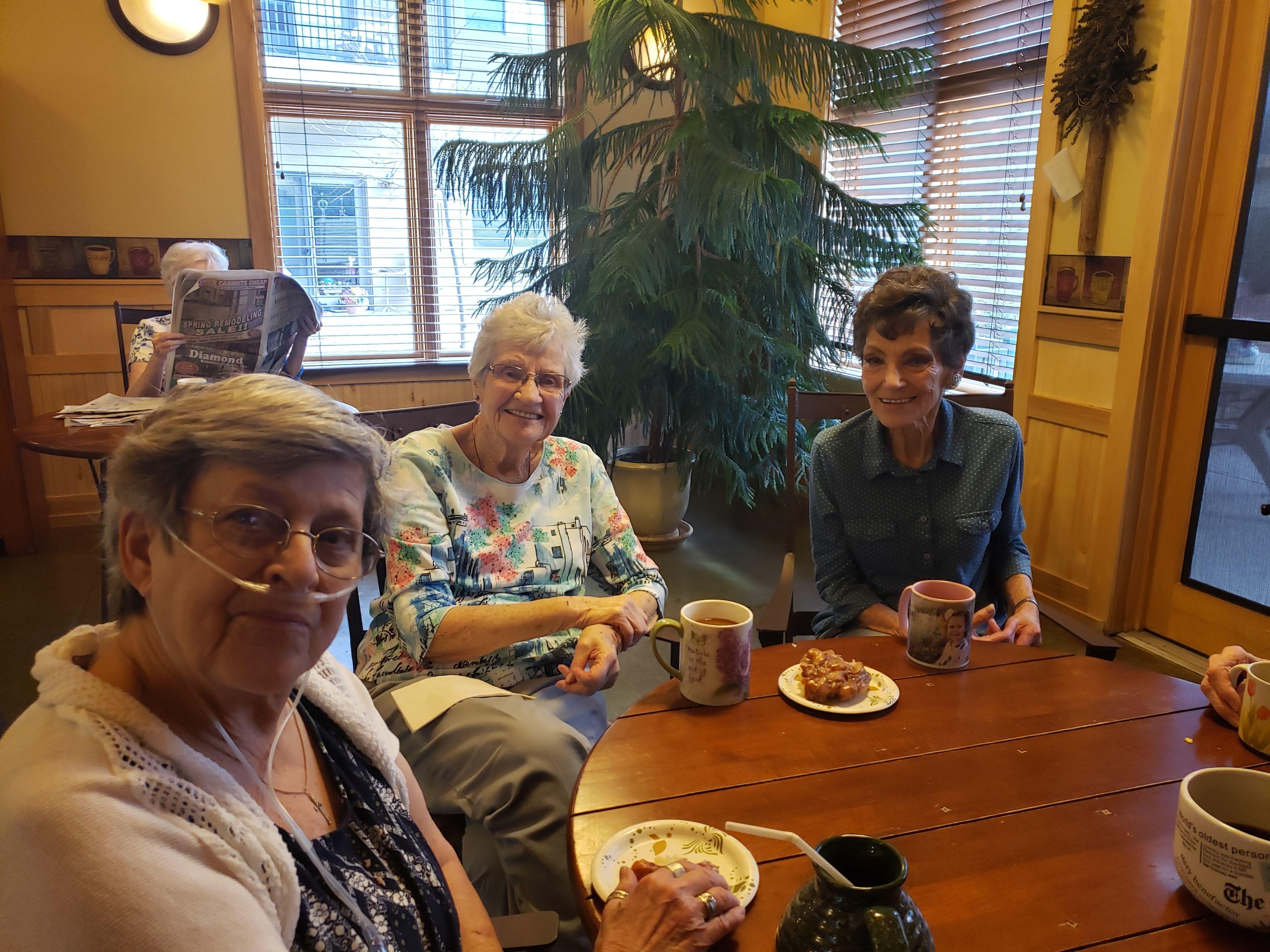 Resident couple at Majestic Rim Retirement Living