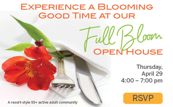 RSVP for Full Bloom Open House Event