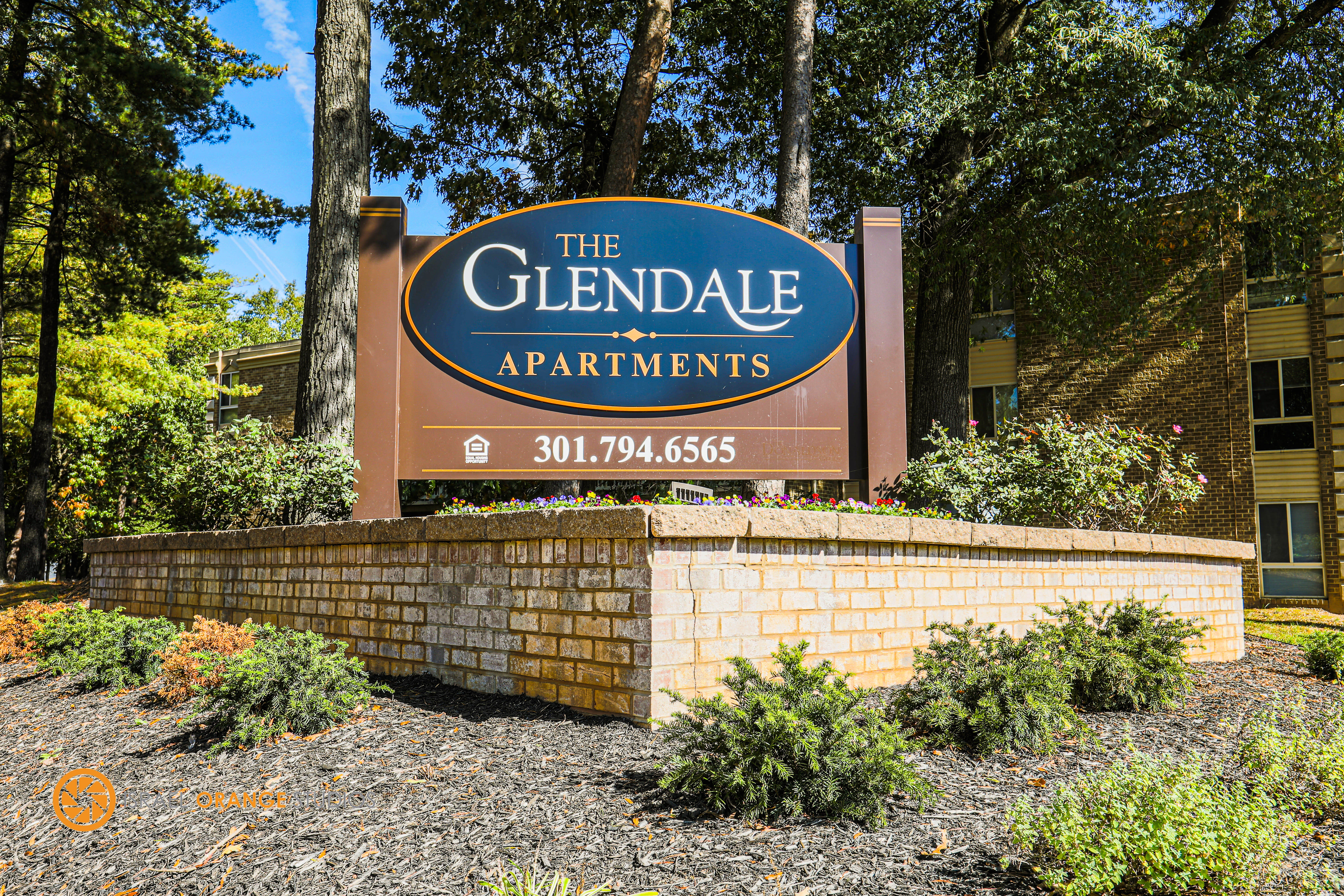 The Glendale Residence outdoor sign!