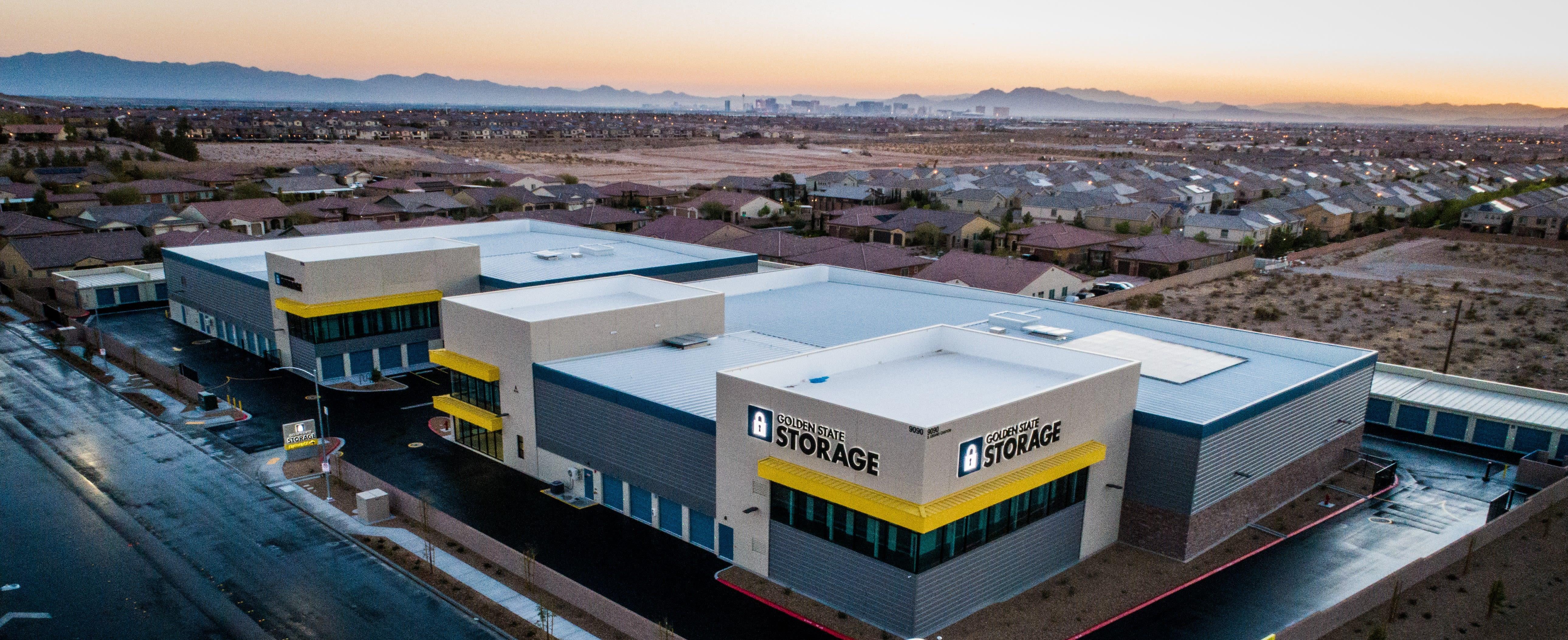 Self storage from Golden State Storage - Blue Diamond in Las Vegas, Nevada