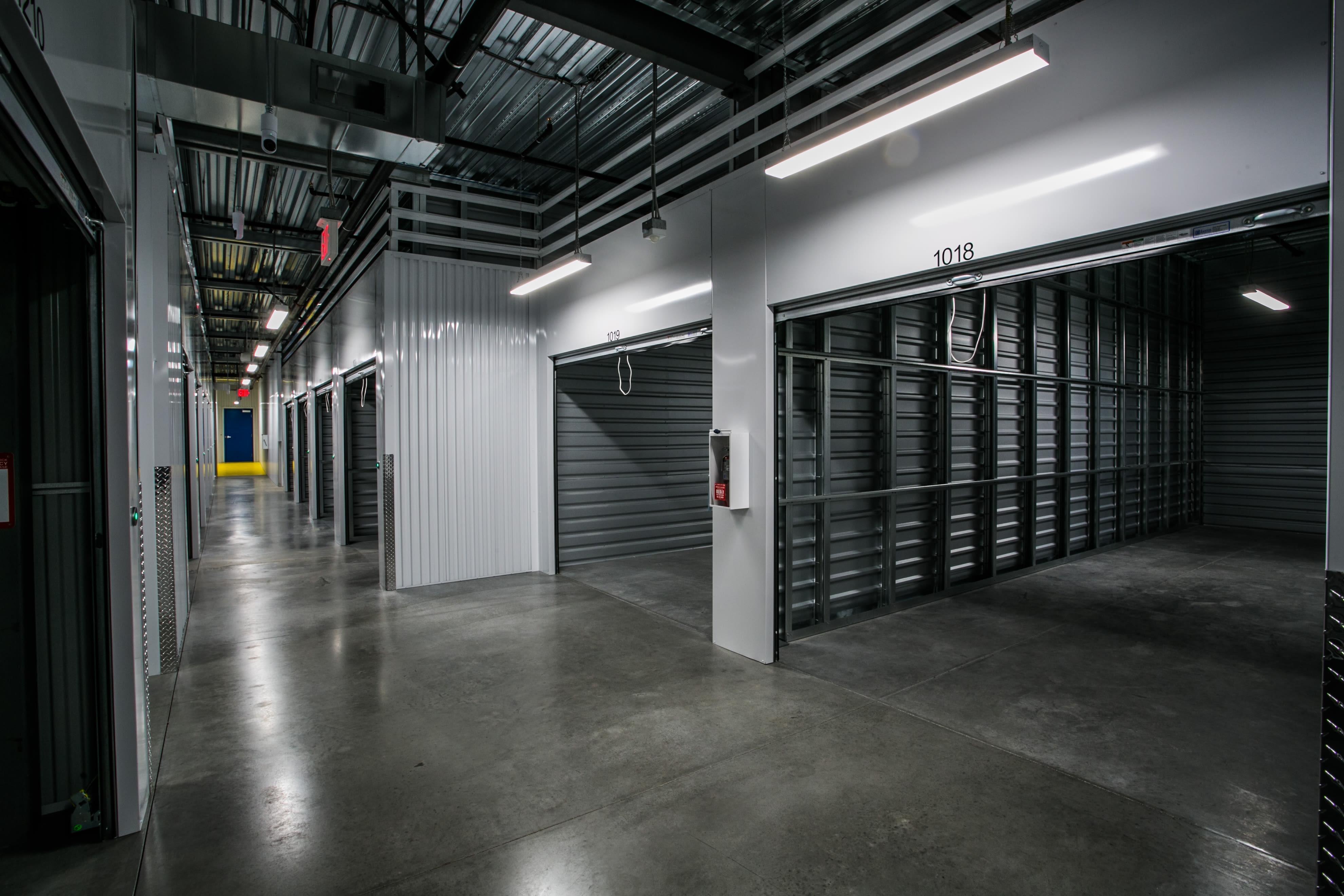 Indoor storage units at Golden State Storage - Blue Diamond in Las Vegas, Nevada