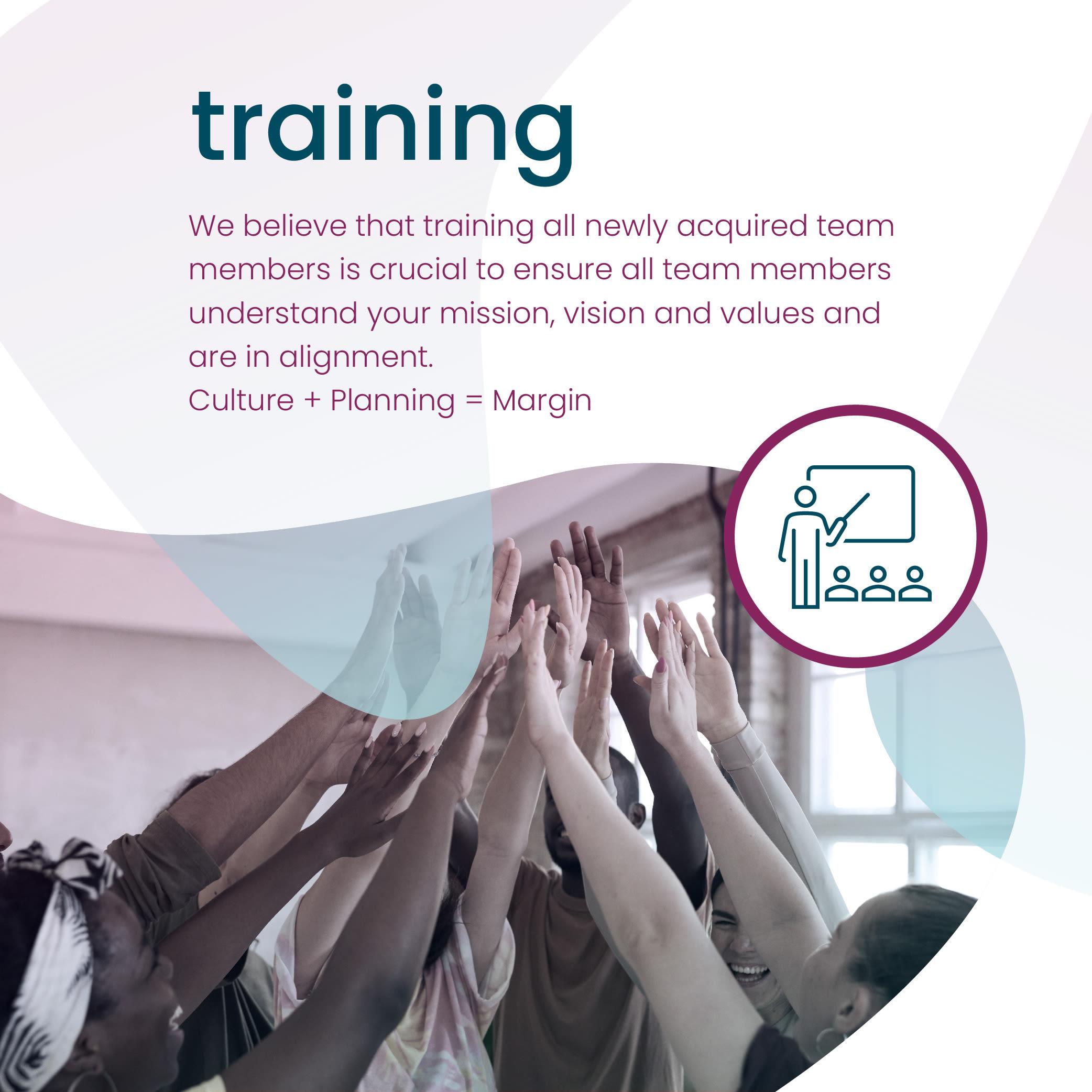 training at Hearth Management