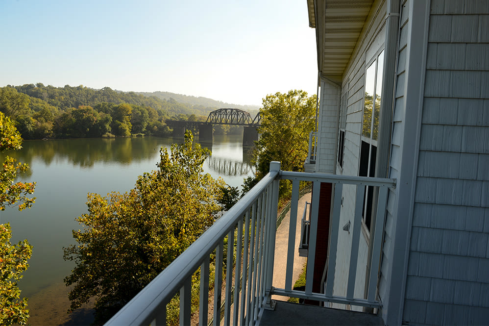 Picturesque views at The Waterfront Apartments & Townhomes in Munhall, Pennsylvania