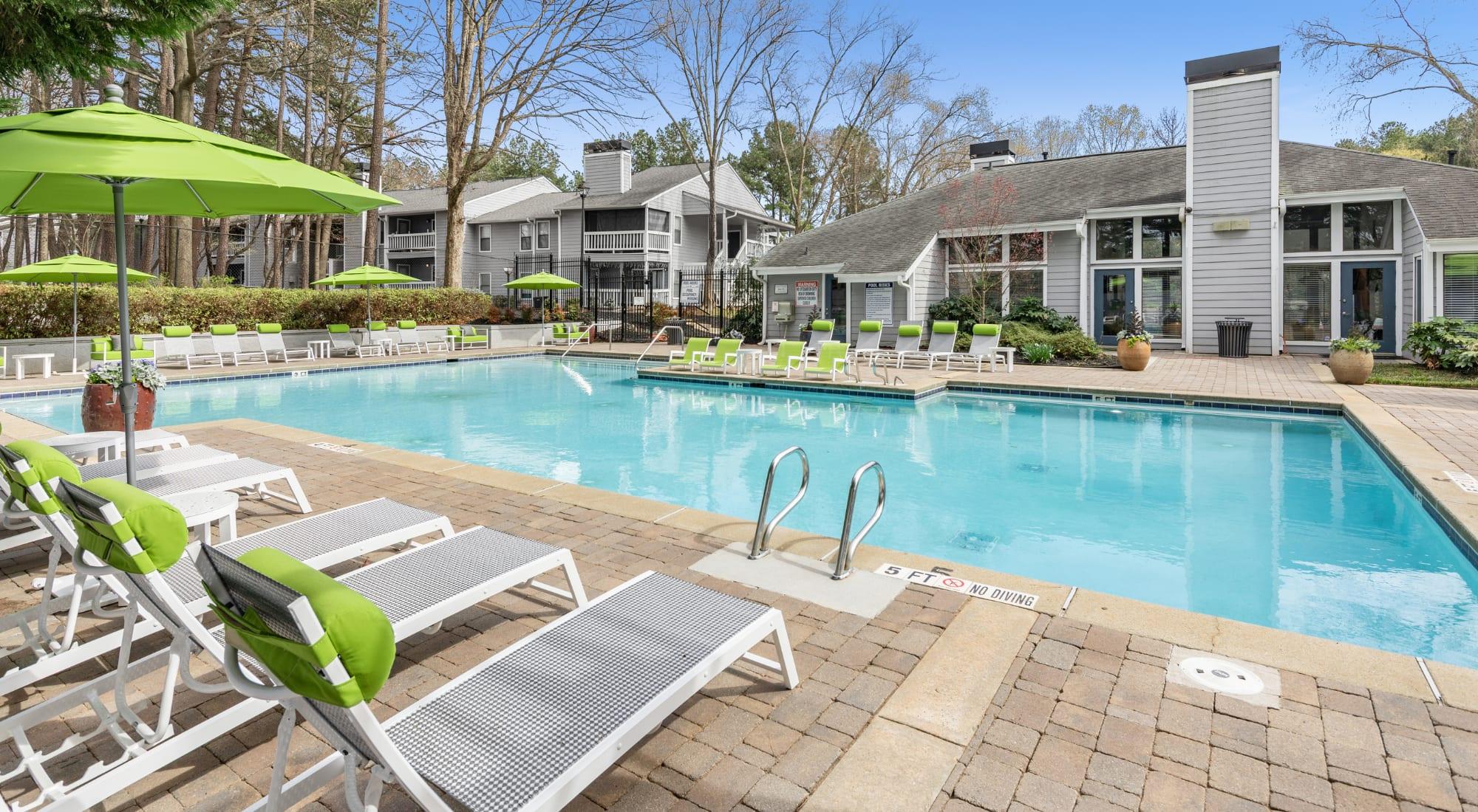 Swimming pooll at The Franklin in Marietta, Georgia