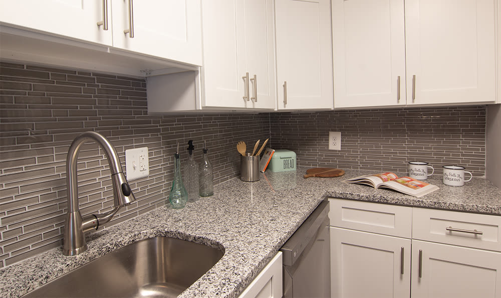 Kitchen at Park Place of South Park in South Park, Pennsylvania
