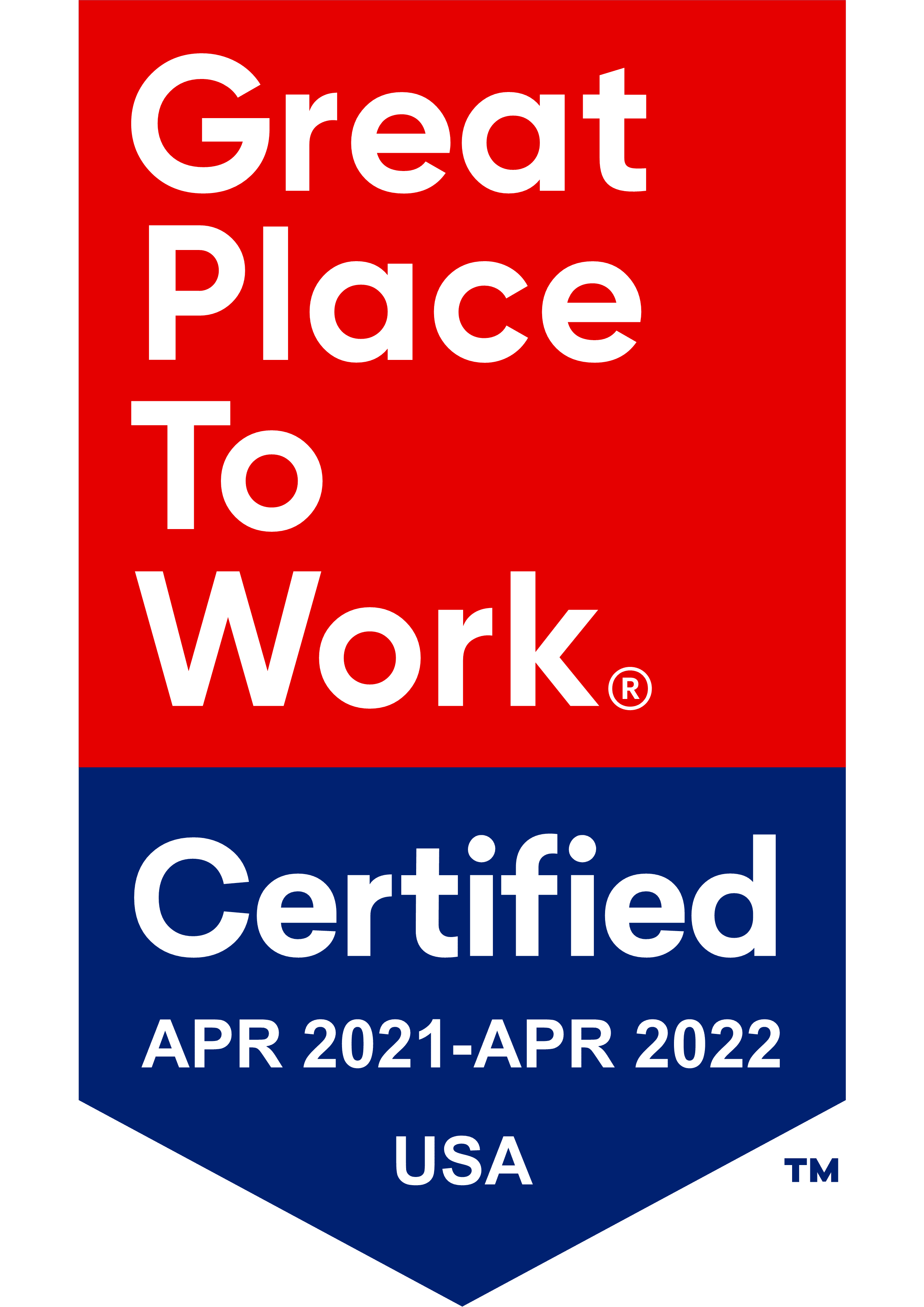 Great places to work badge for The Keystones of Cedar Rapids
