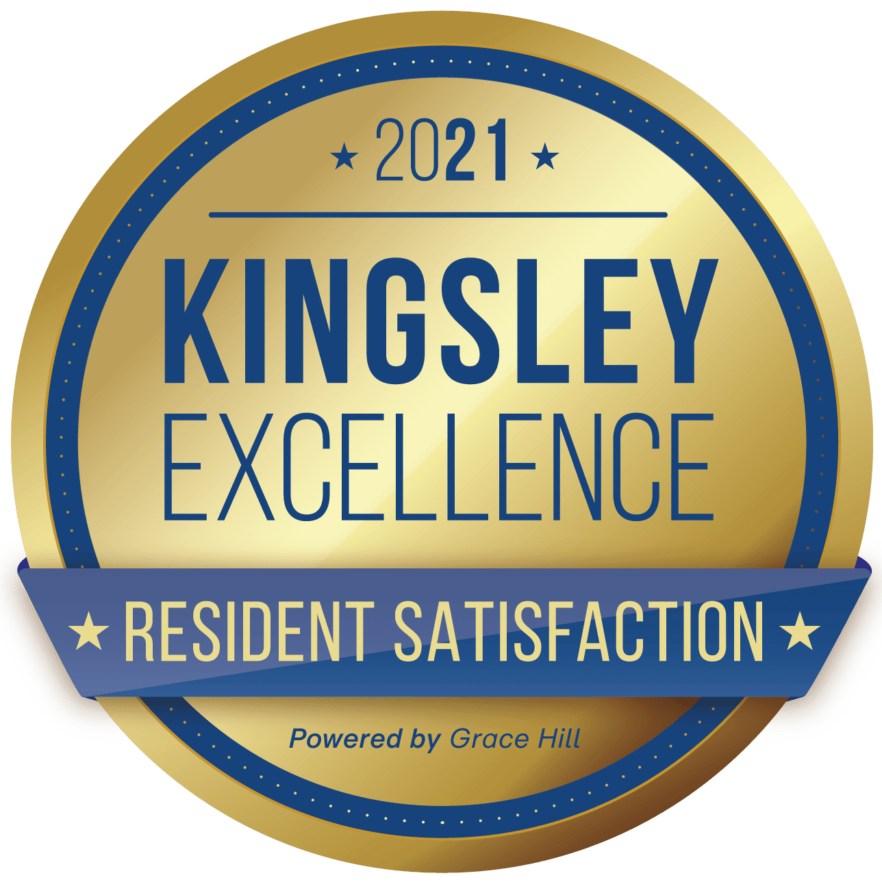 Kingsley Excellence Badge