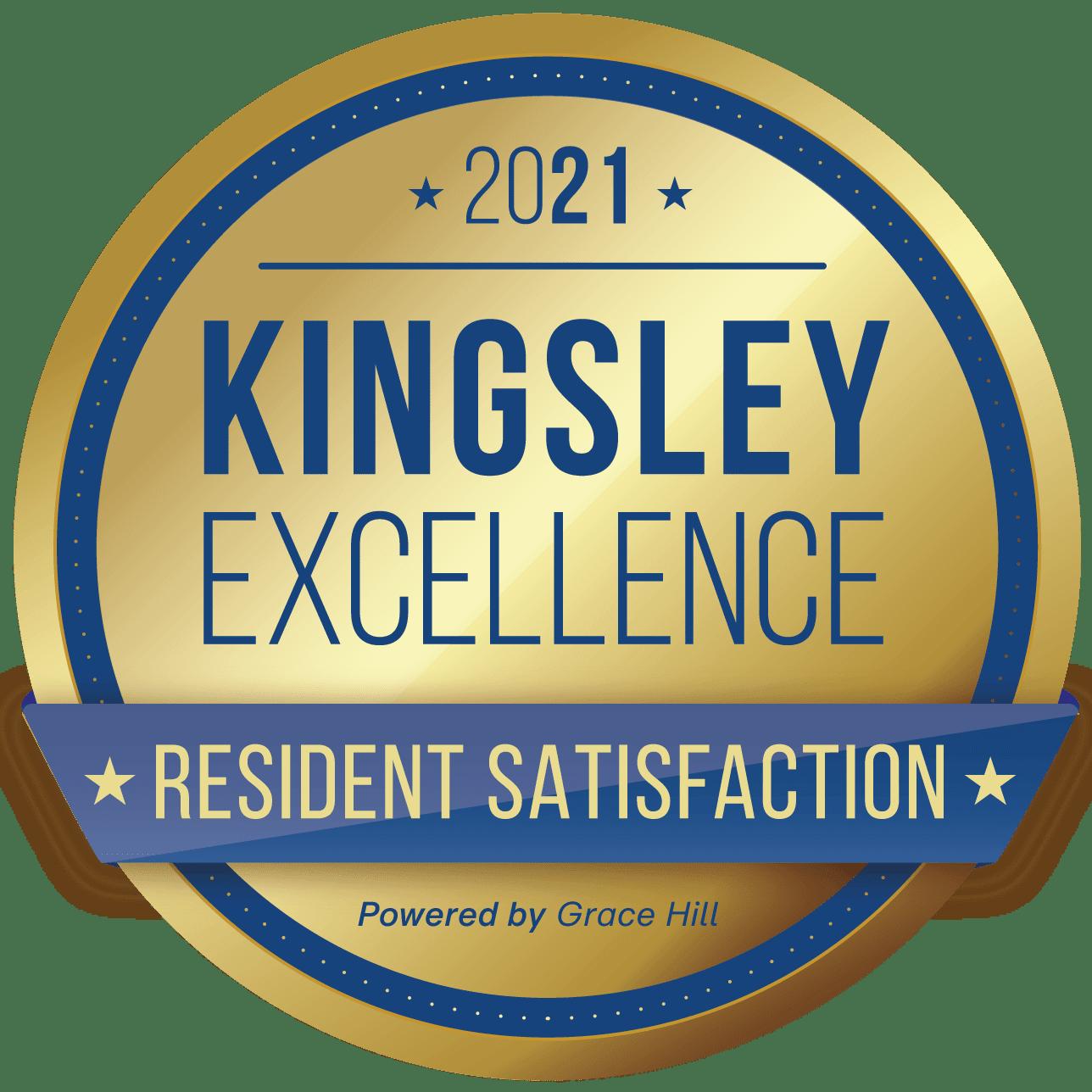 Kingsley Excellence Badge