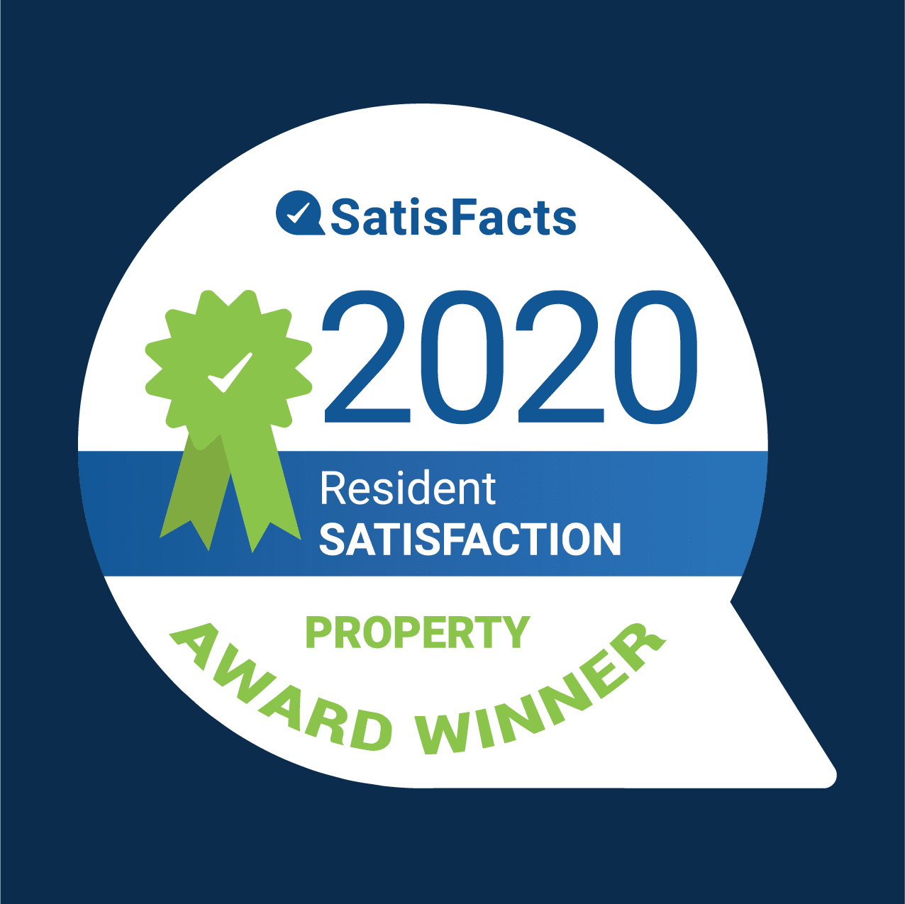 Satisfacts 2020 Award