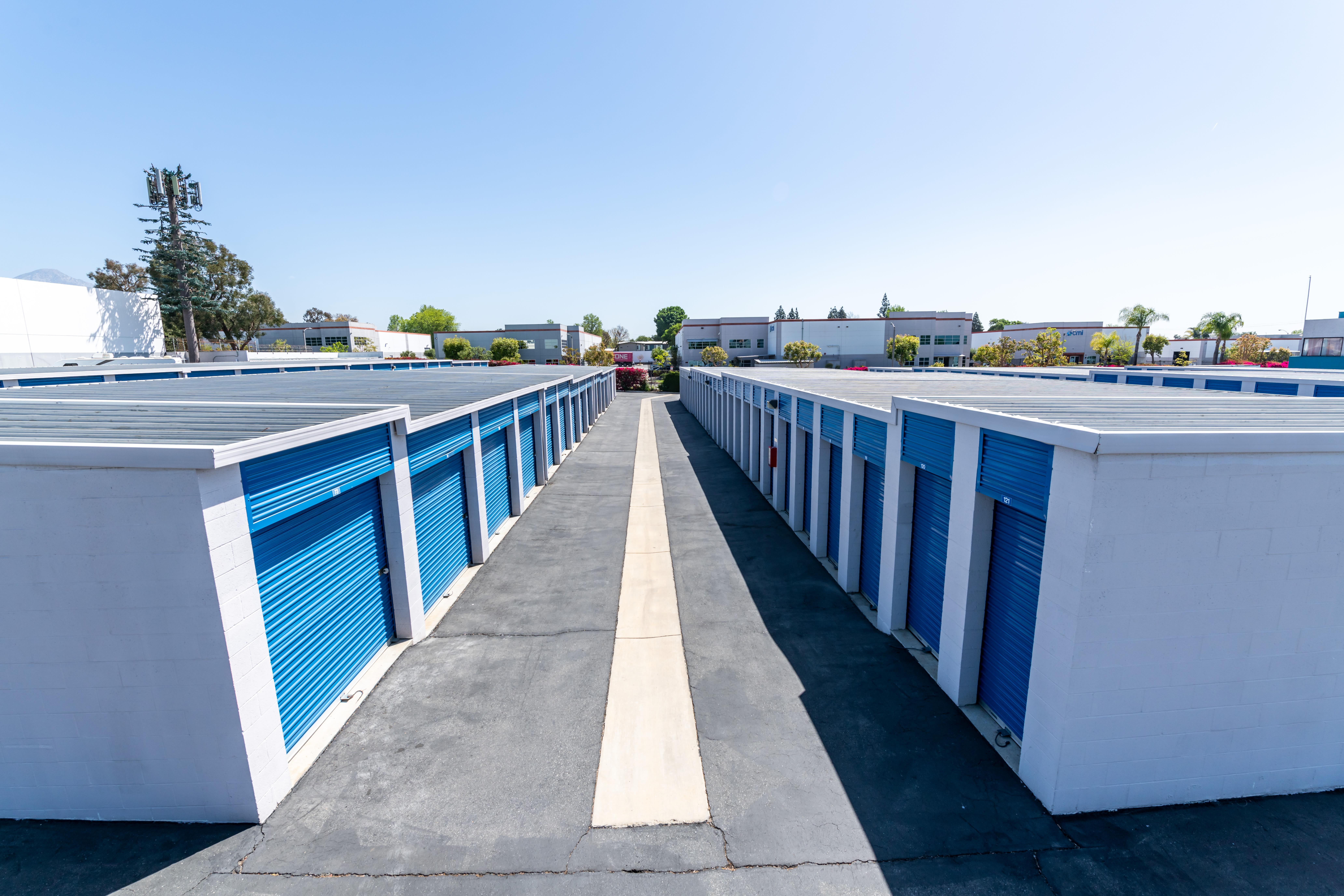Outdoor Storage Units at Storage Etc... Pomona