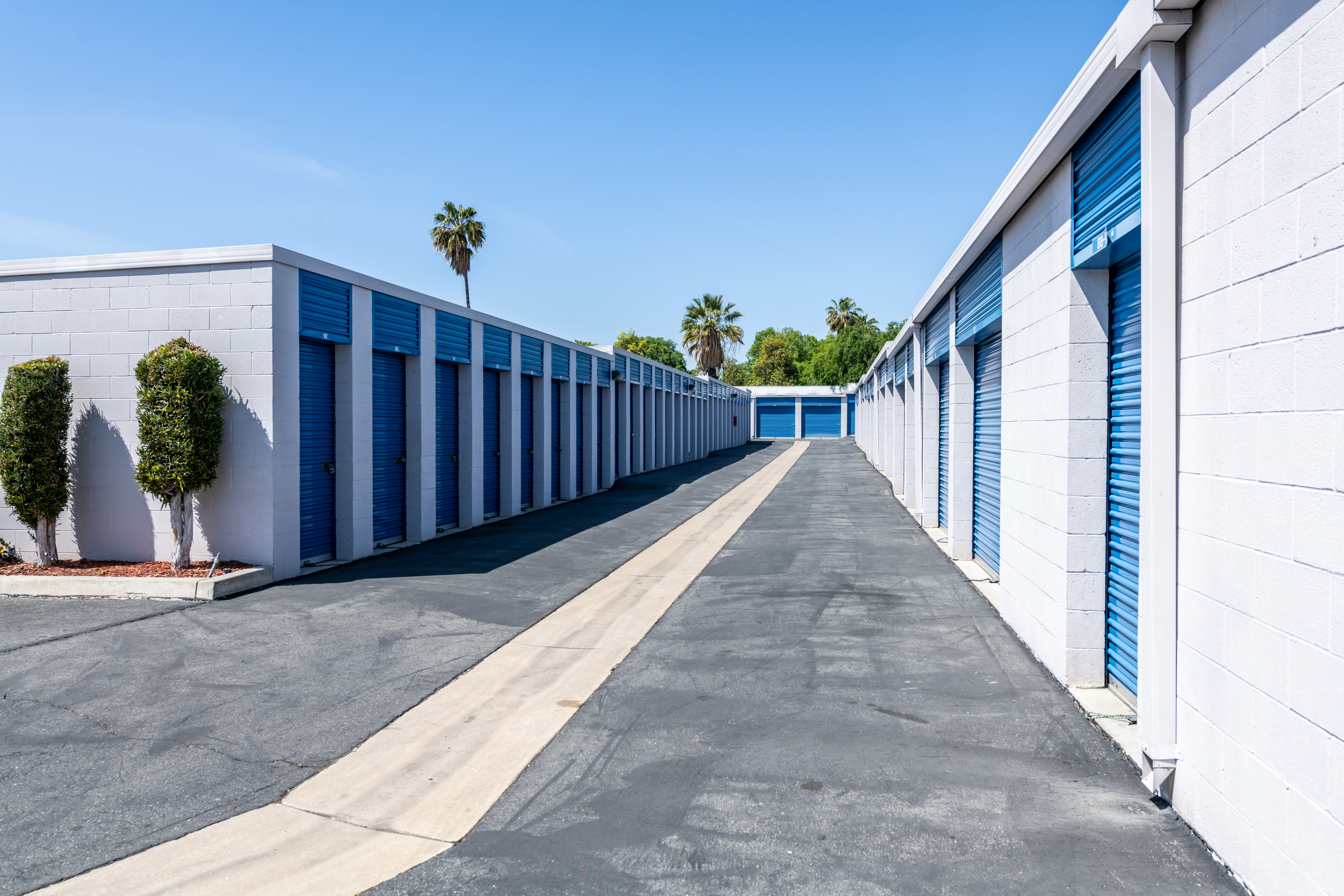 Drive up access self storage at Storage Etc... Pomona