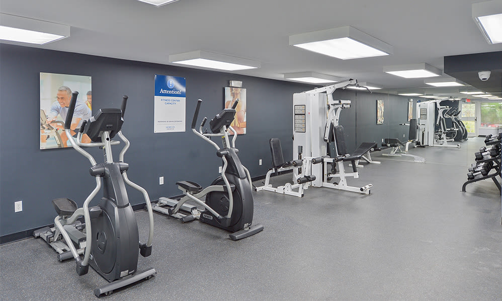 Cardio fitness equipment at Imperial Gardens Apartment Homes in Middletown, NY