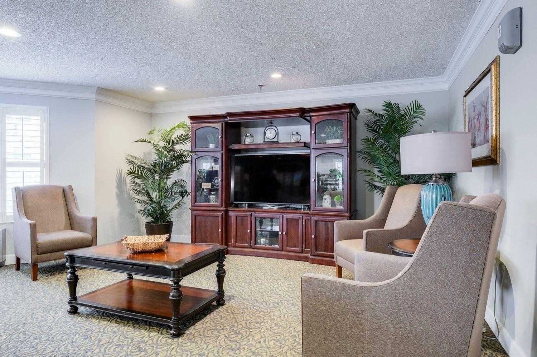 Tv area at Grand Villa of Ormond Beach in Florida