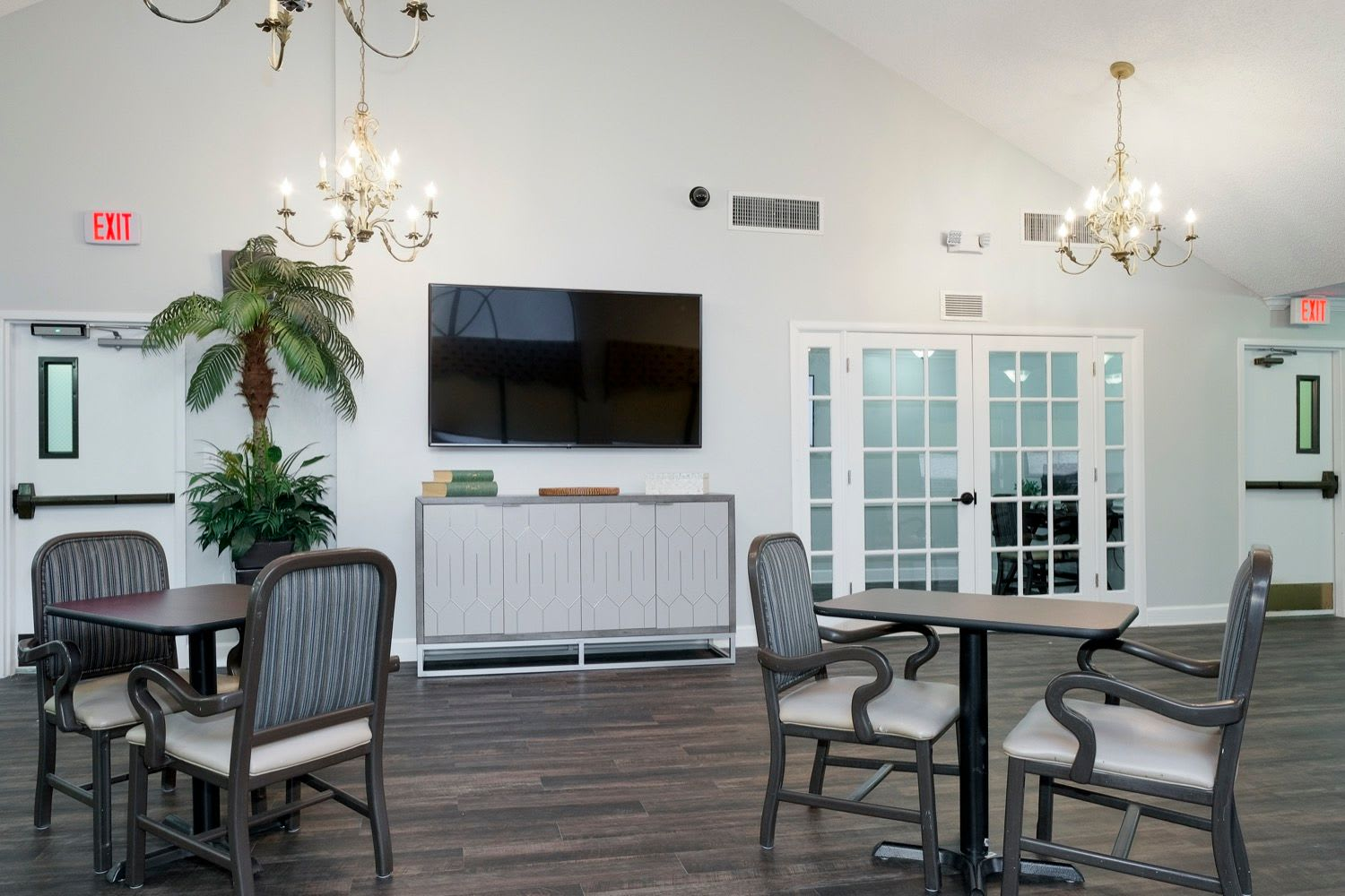 Seating area at Grand Villa of Ormond Beach in Florida