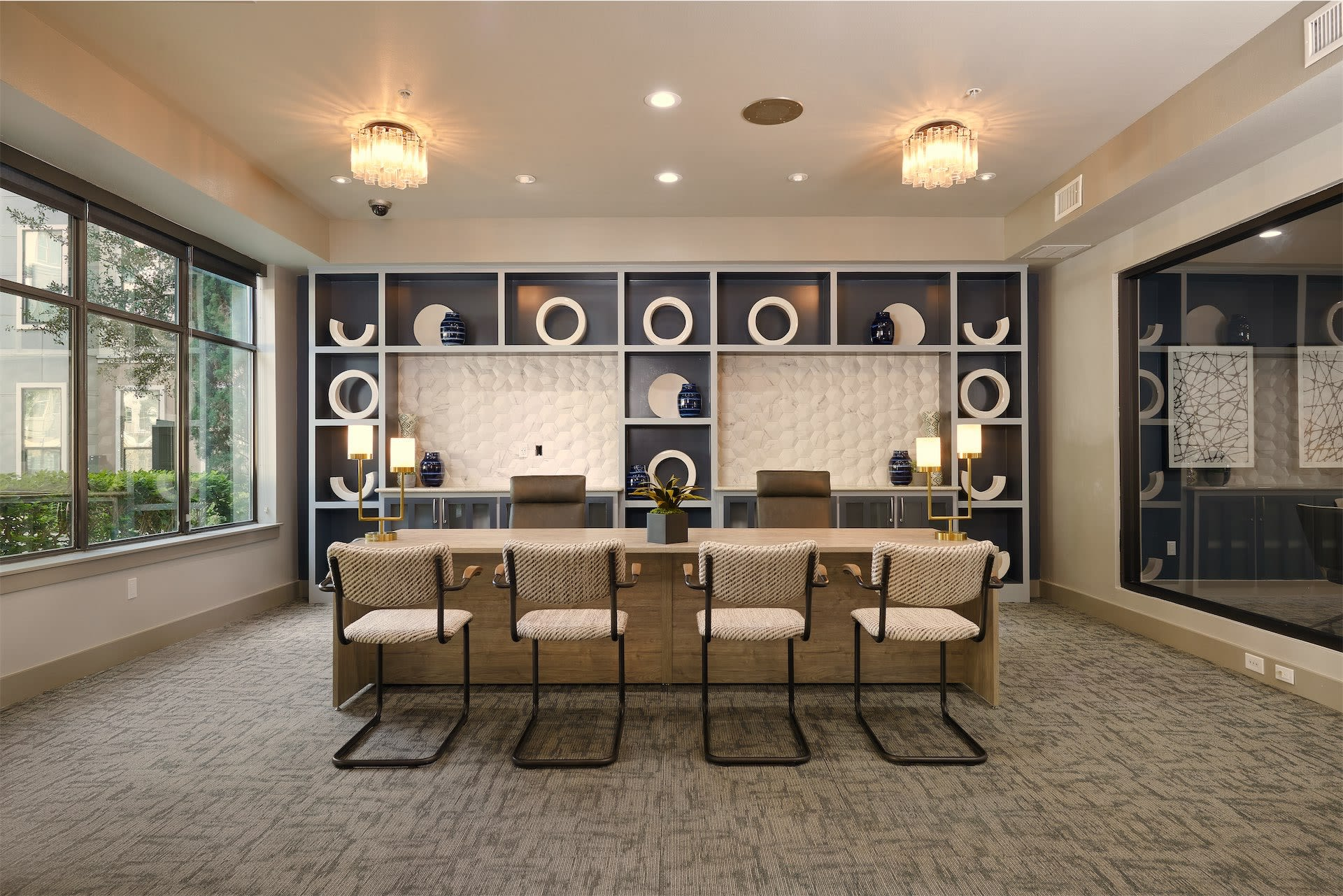 meeting area at Seville Uptown in Dallas, Texas