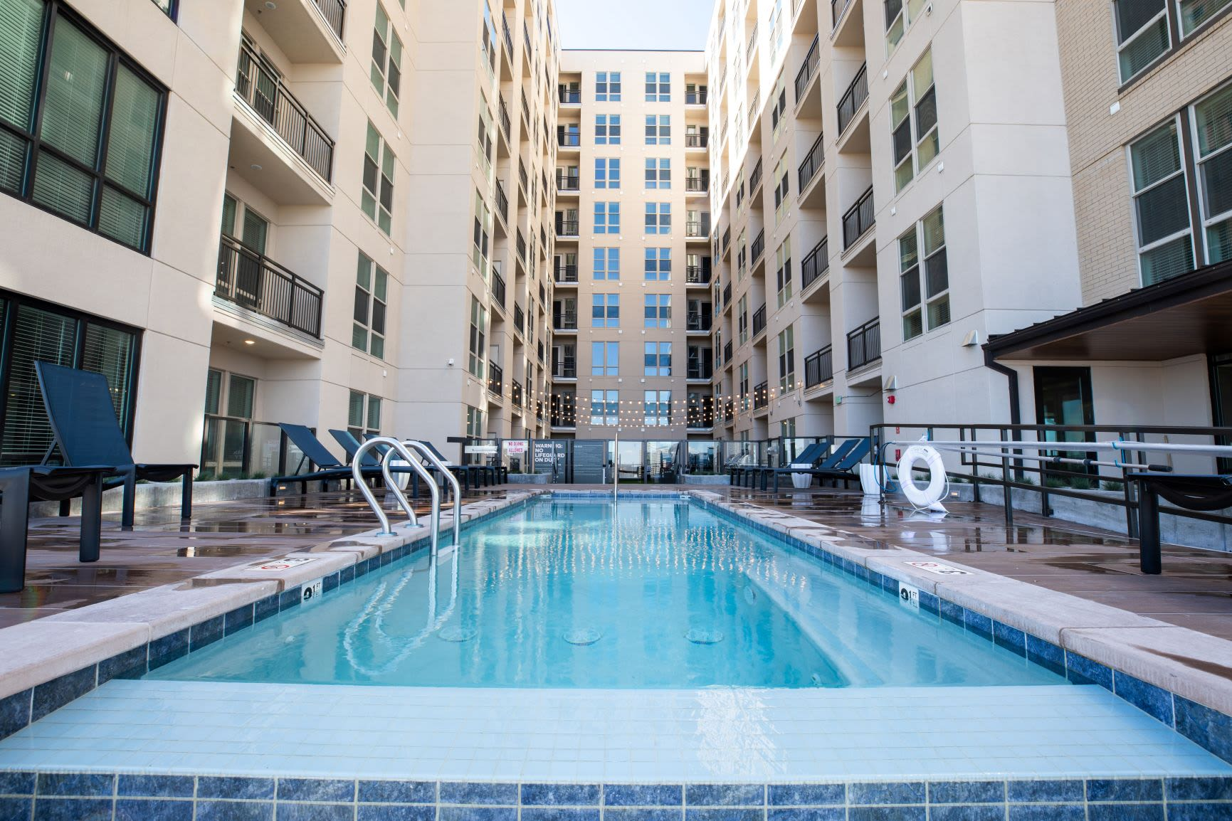 Laps pool at The Alcott in Downtown Denver, Colorado