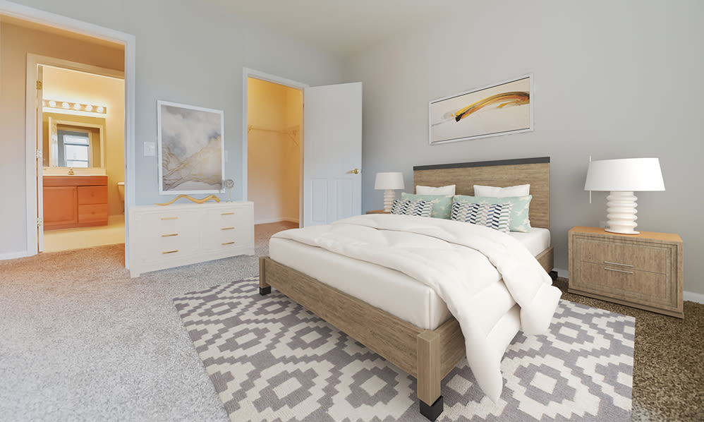 Spacious bedroom in Cherry Hill, New Jersey
