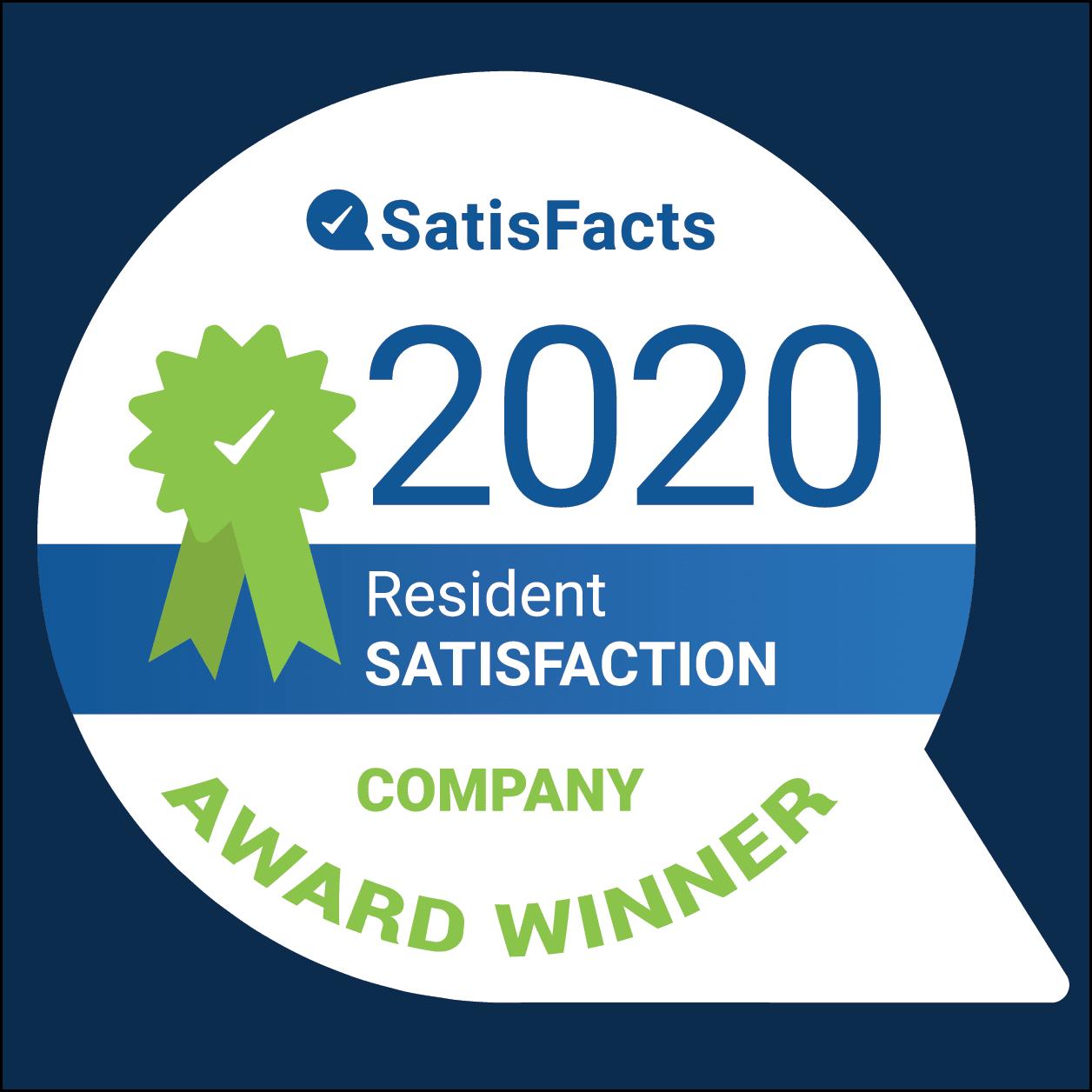 SatisFacts Award Winner Badge