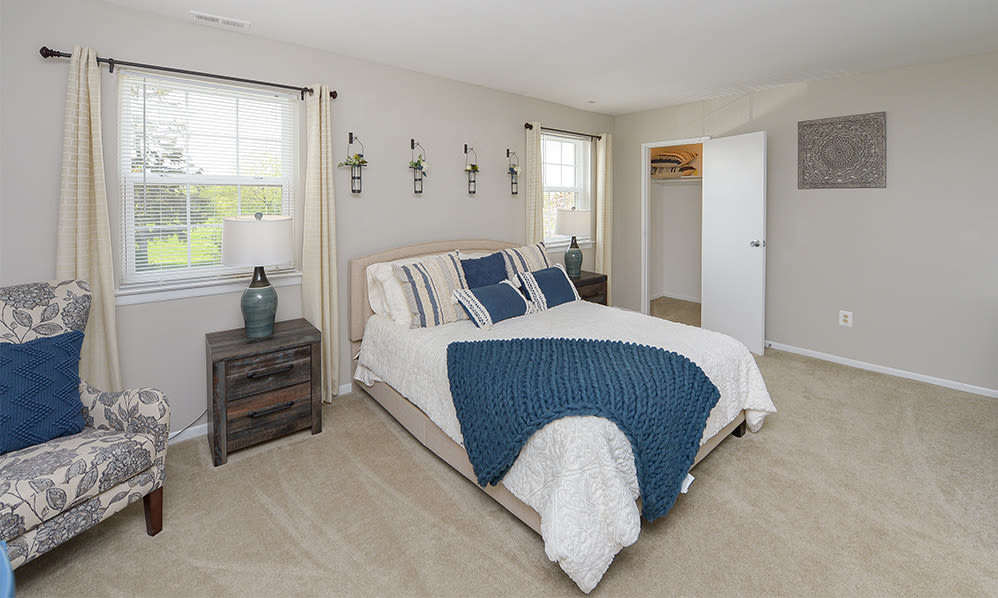 Bedroom at Lumberton Apartment Homes in Lumberton, New Jersey