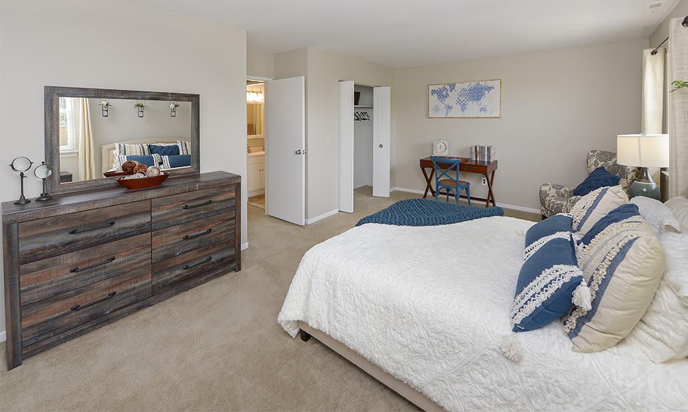 Beautiful Bedroom at Lumberton Apartment Homes in Lumberton, New Jersey