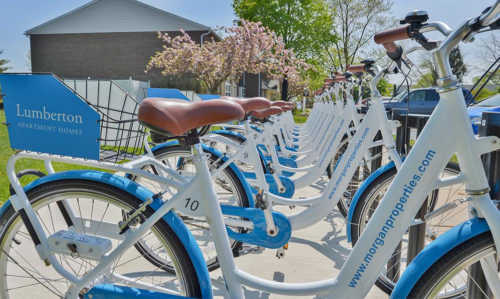 Bike share at Lumberton Apartment Homes in Lumberton, NJ