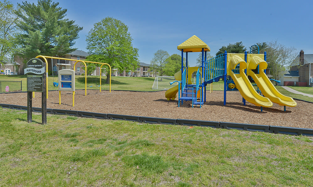 Beautiful playground at Lumberton Apartment Homes in Lumberton, NJ