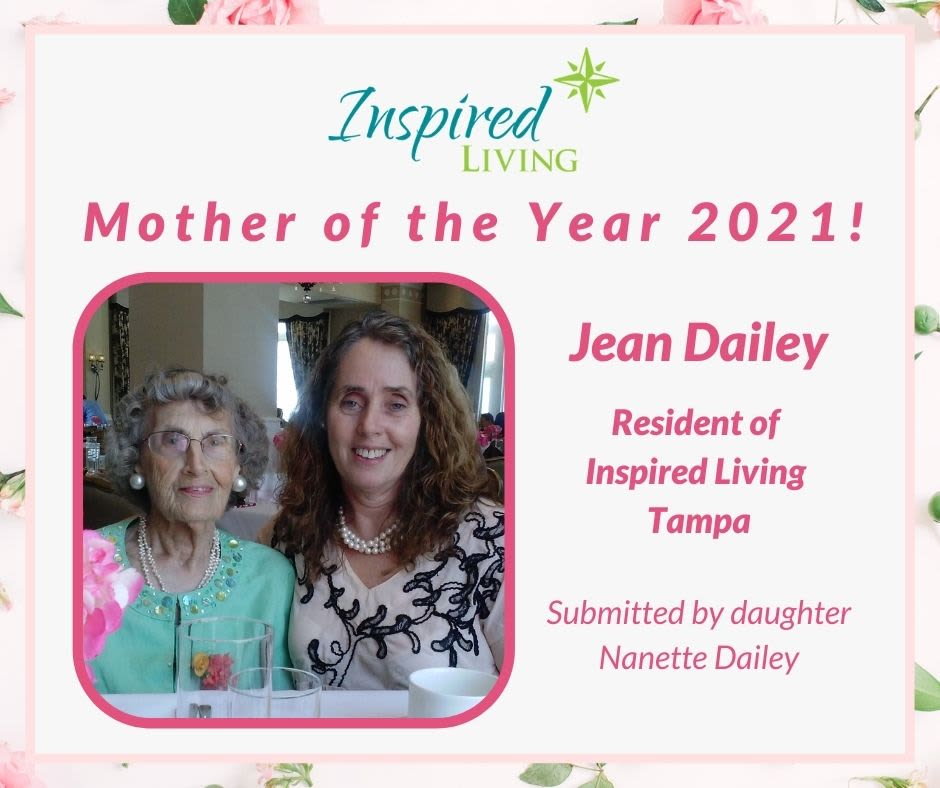 Mother of the Year at Inspired Living Delray Beach in Delray Beach, Florida