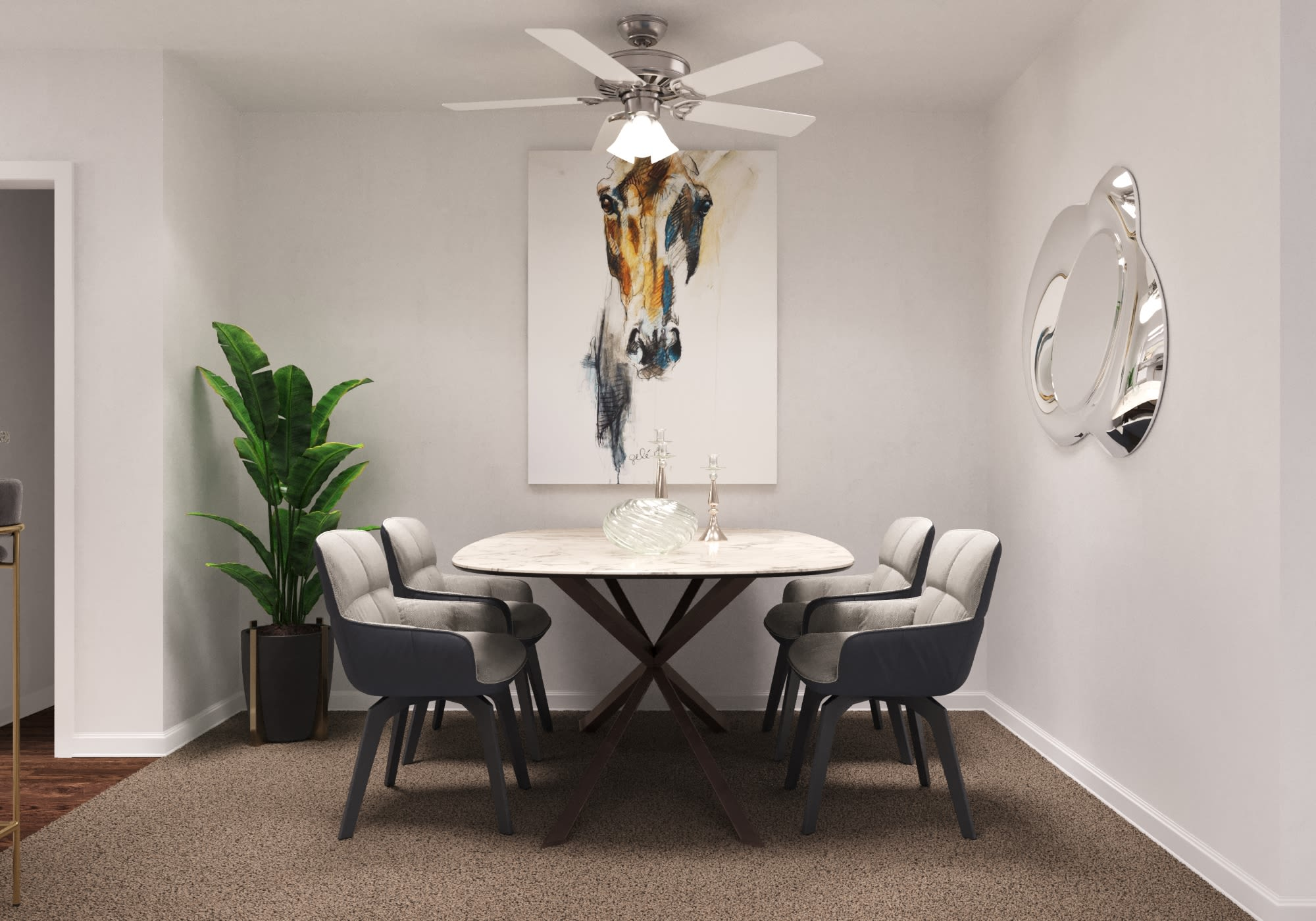 View virtual tour for 2 bedroom home at The Carling on Frankford in Carrollton, Texas